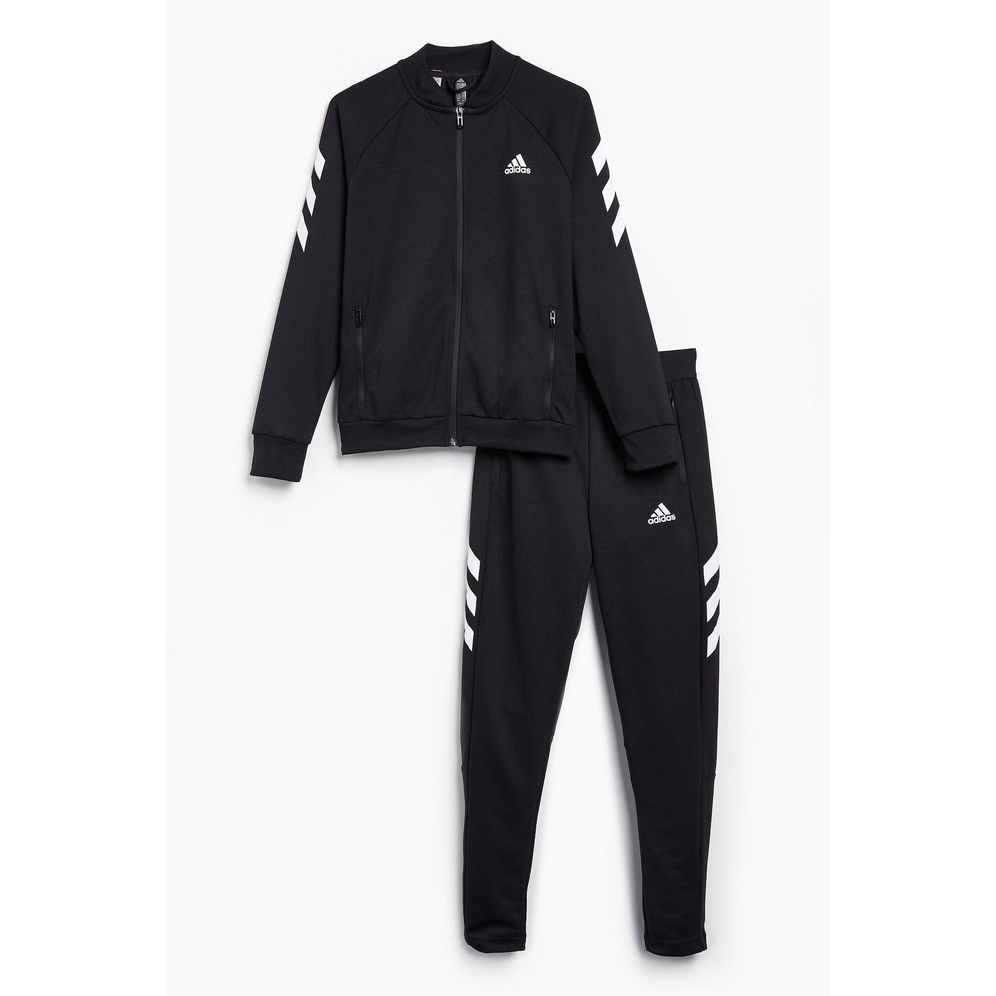 Image of Boys adidas XFG Black Tracksuit