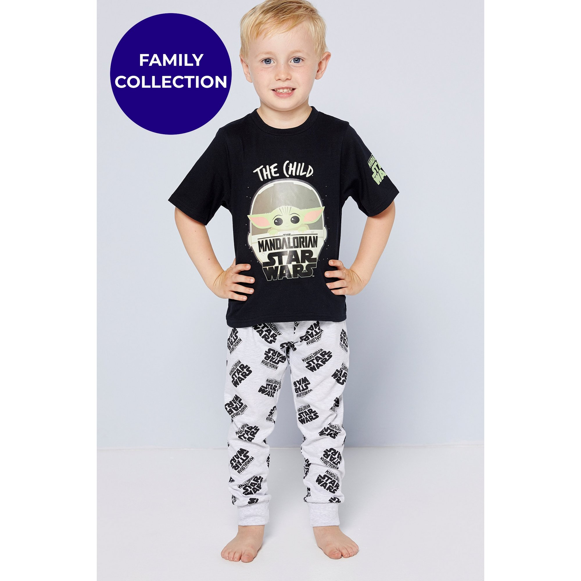 Image of Boys Mandalorian Mini Me Pyjamas