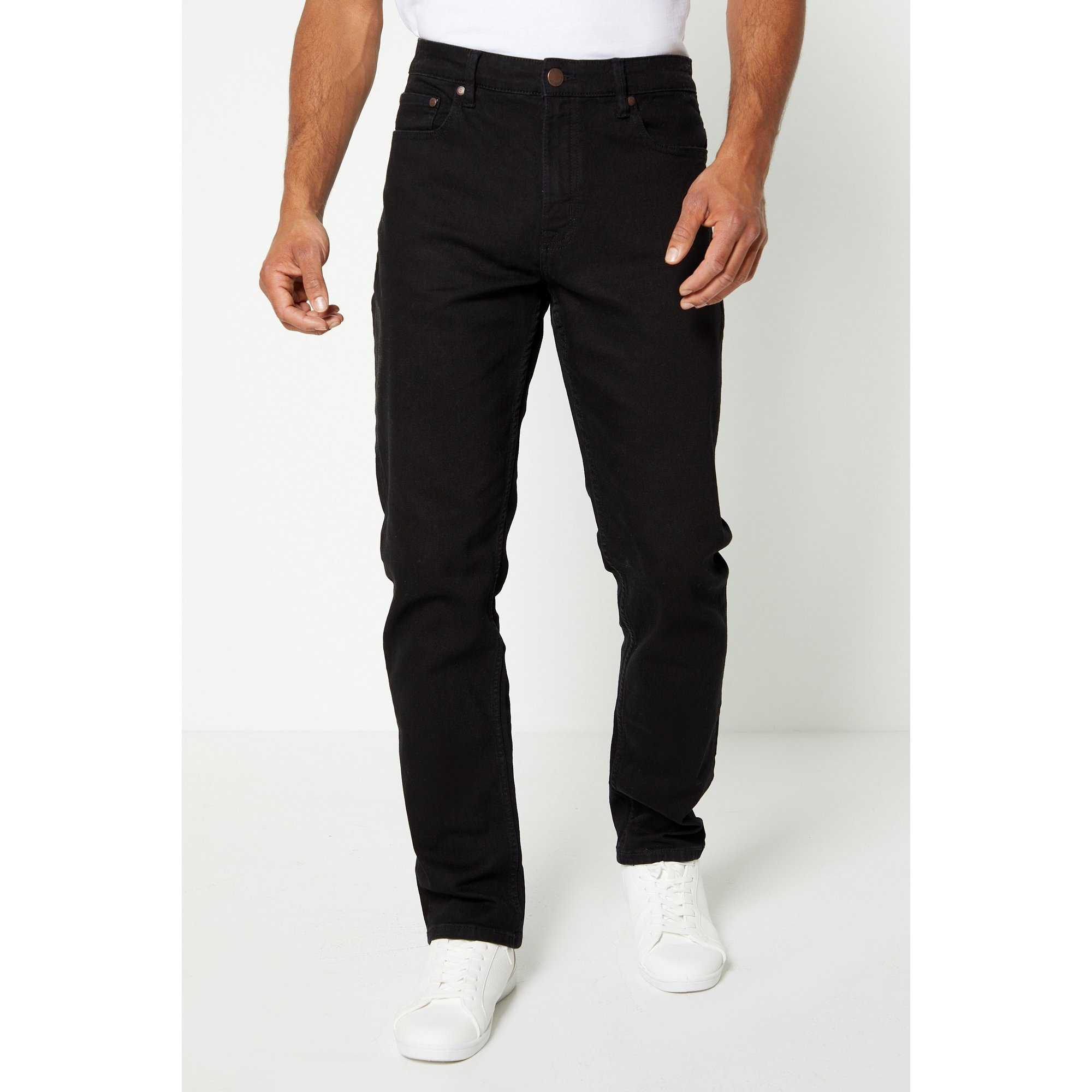 Image of Ben Sherman Black Straight Fit Jeans