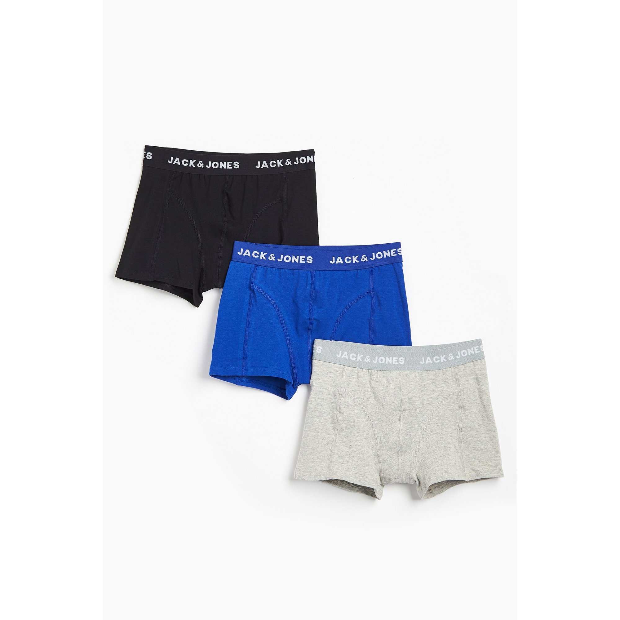 Image of Boys Jack and Jones Pack of 3 Trunks