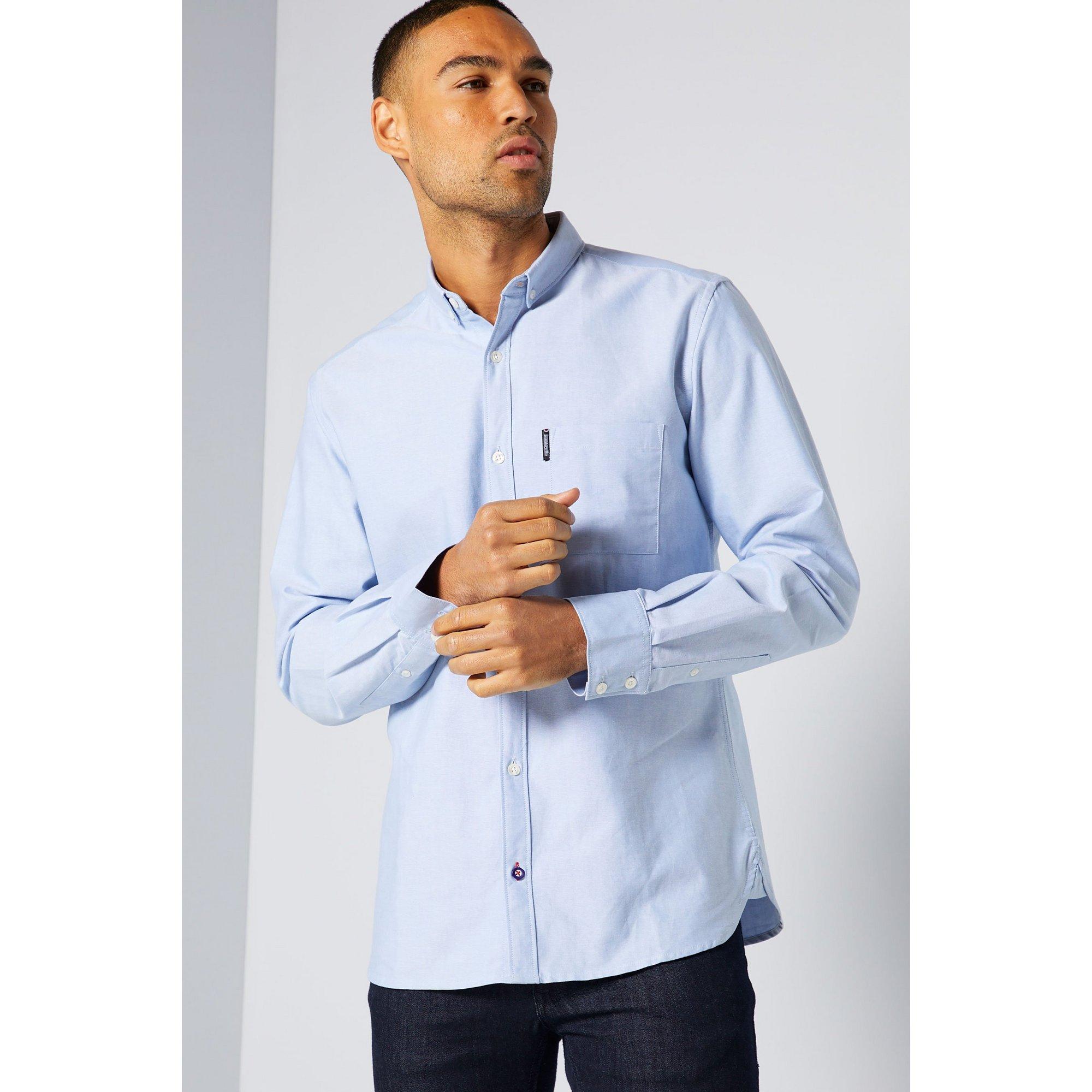 Image of Lambretta Light Blue Oxford Shirt