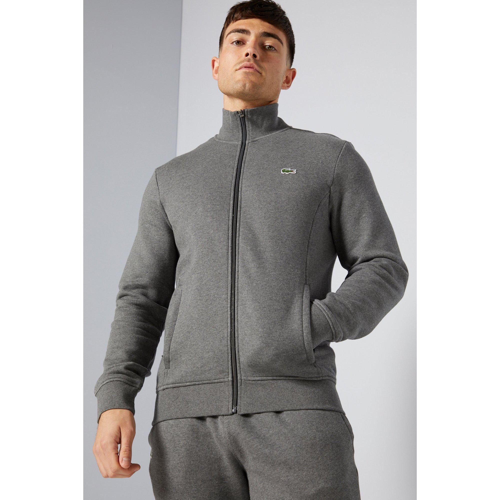 Image of Lacoste Charcoal Track Top