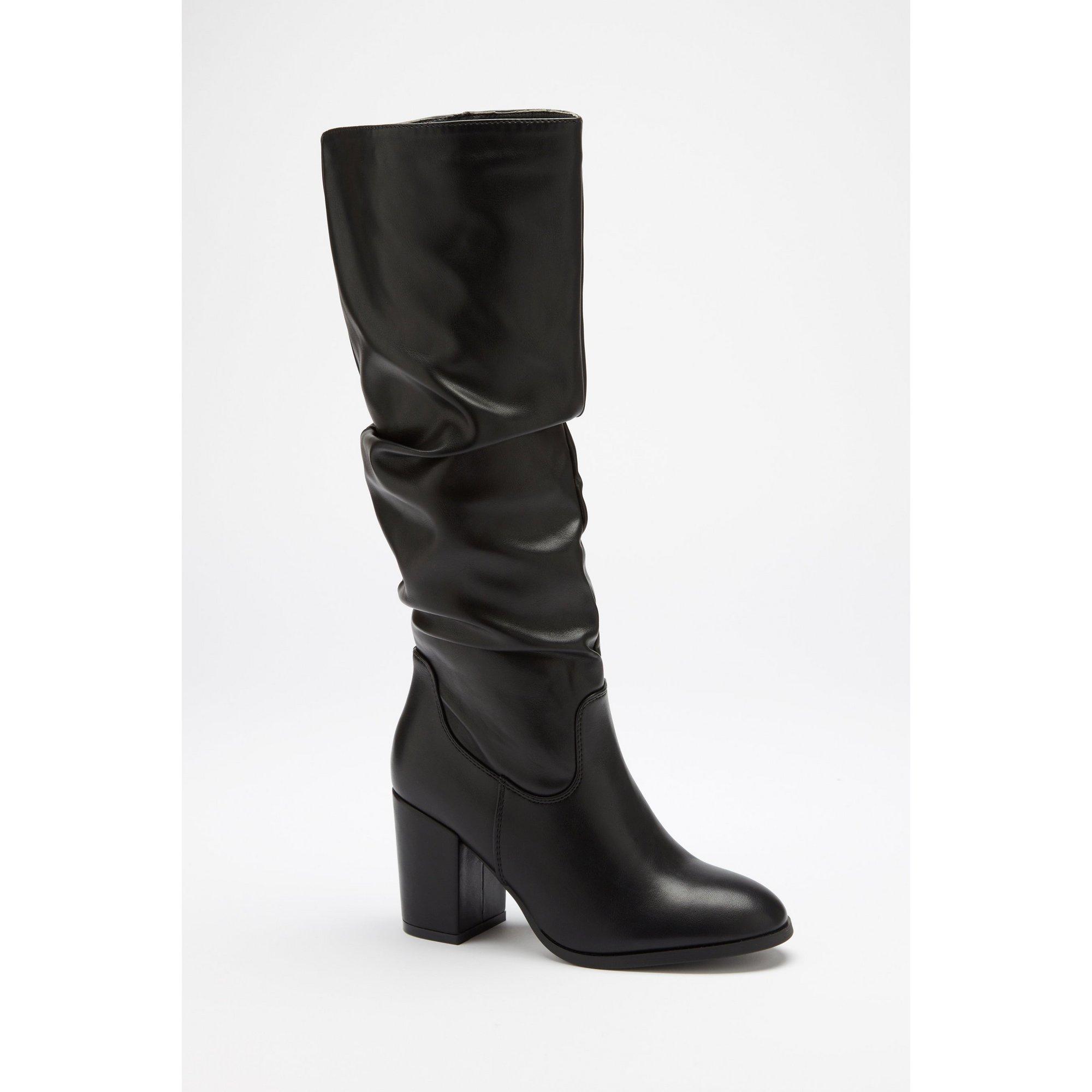 Slouchy Long Leg Boots