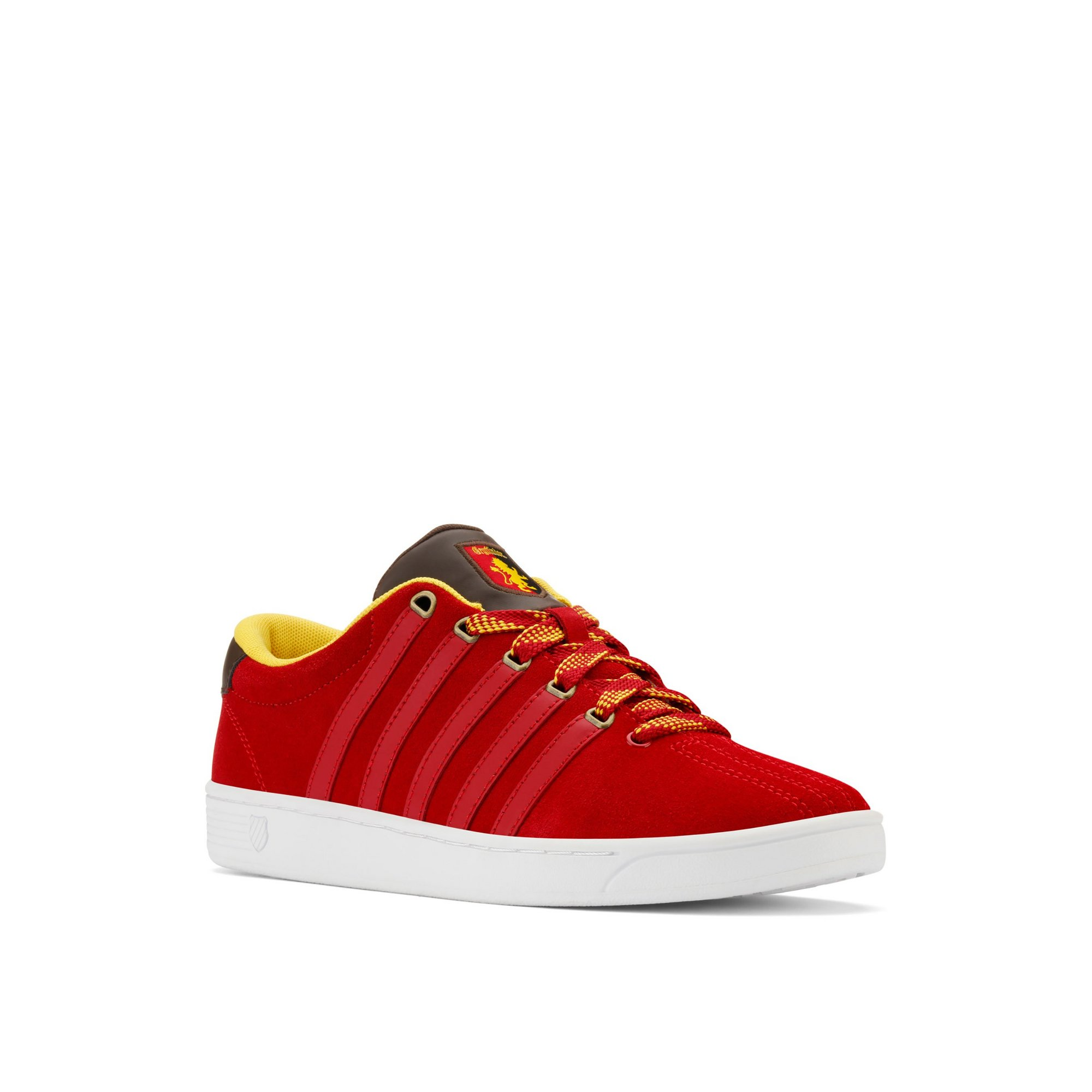 Image of K-Swiss x Harry Potter Court Pro Gryffingdor Trainers