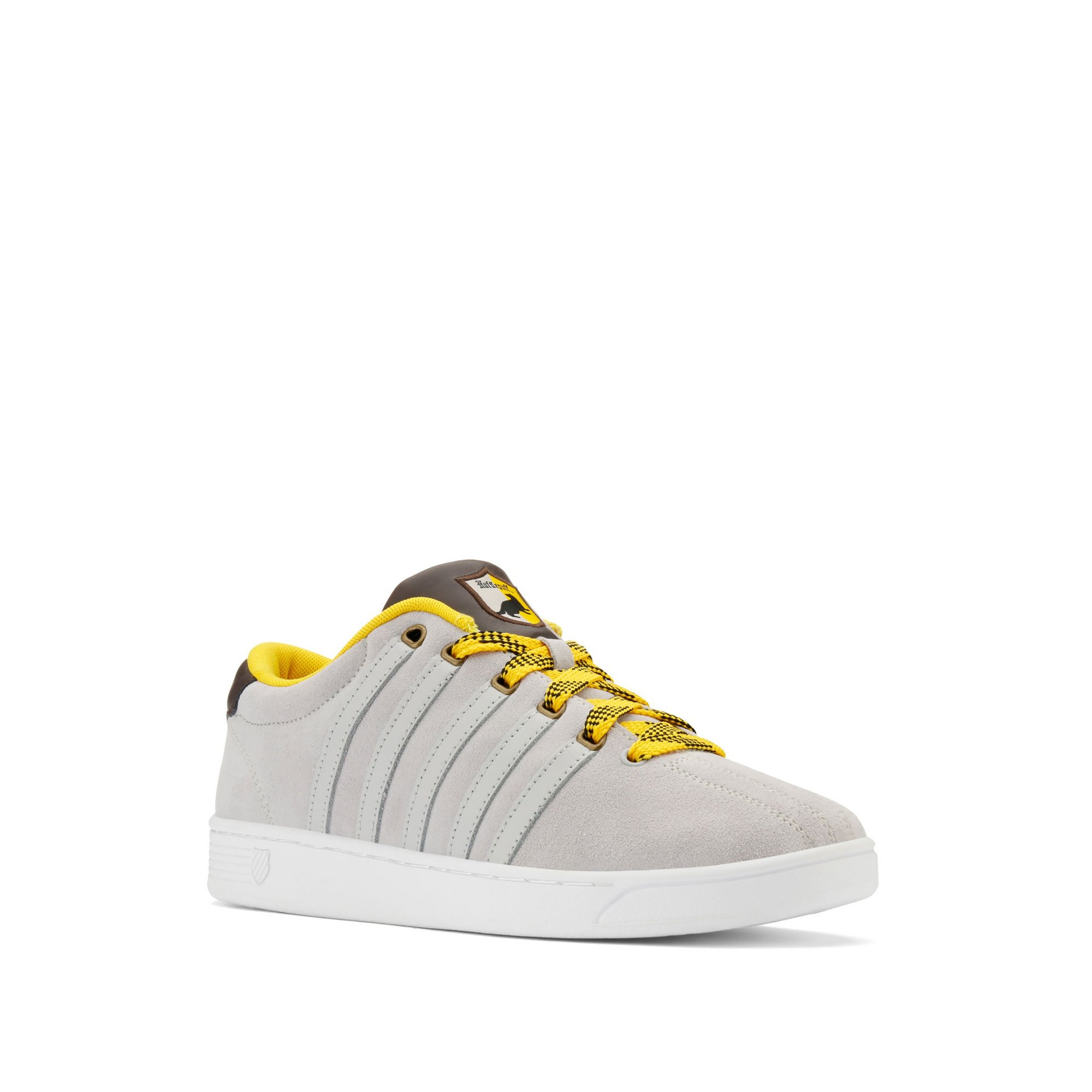 Image of K-Swiss x Harry Potter Court Pro Huffle Puff Trainers