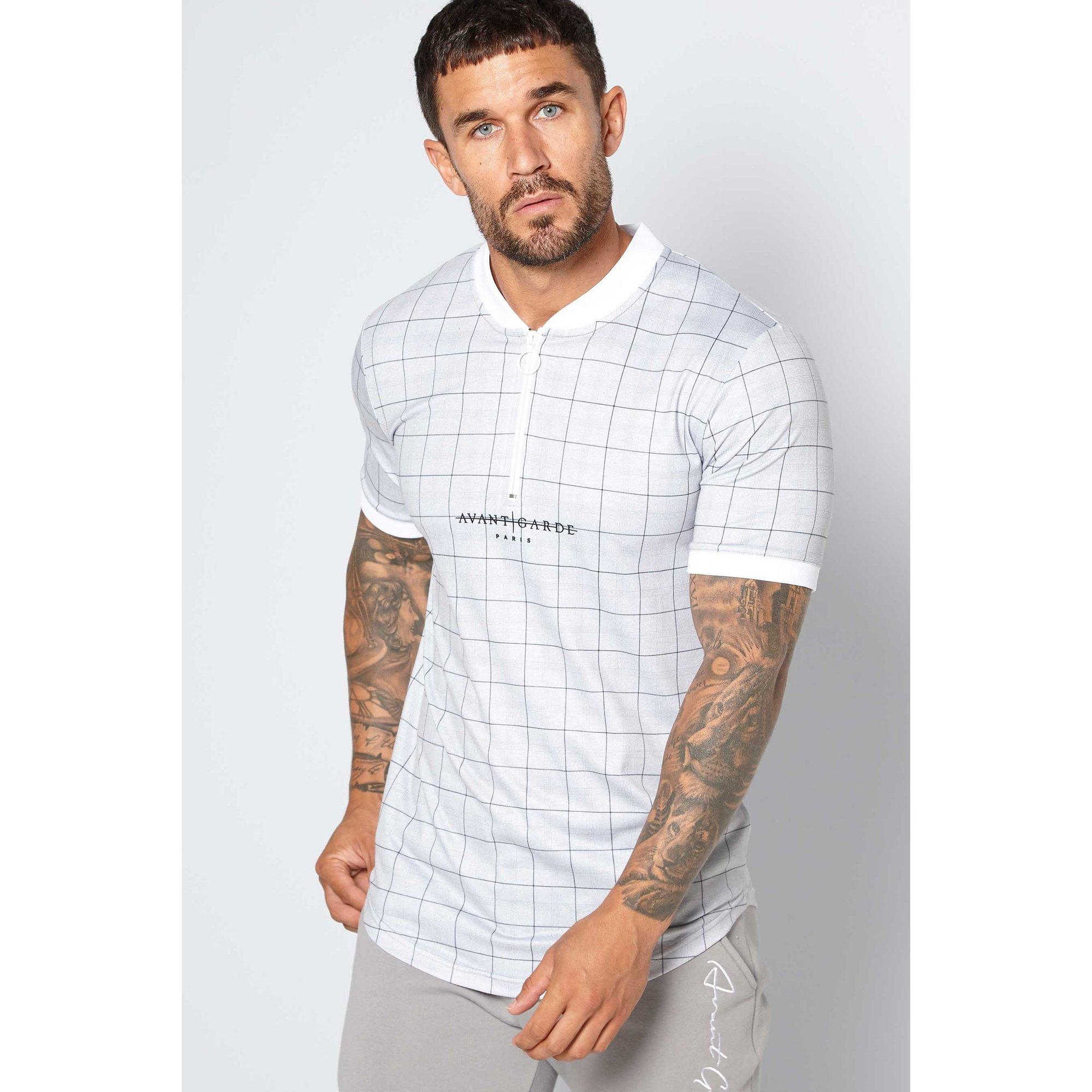 Image of Avant Garde Check Polo Shirt