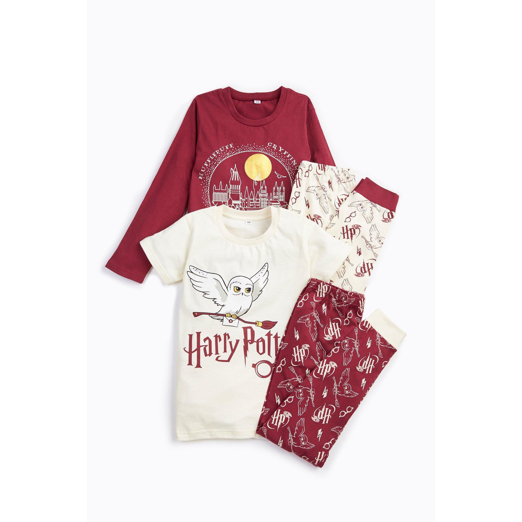 Image of Girls Pack of 2 Harry Potter Pyjamas