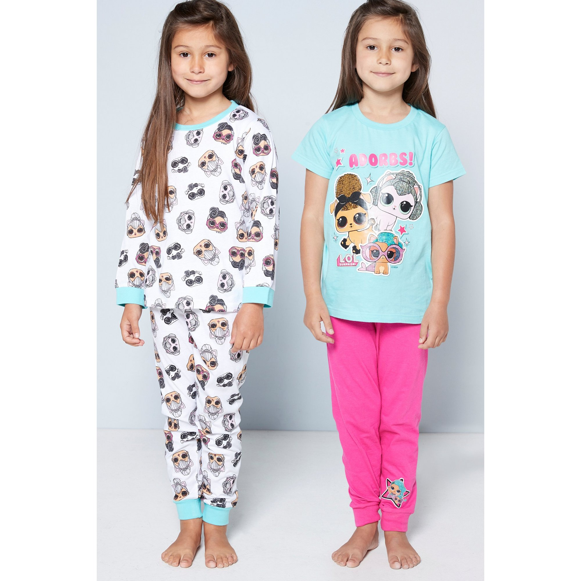 Image of Girls Pack of 2 L.O.L. Surprise! Pyjamas