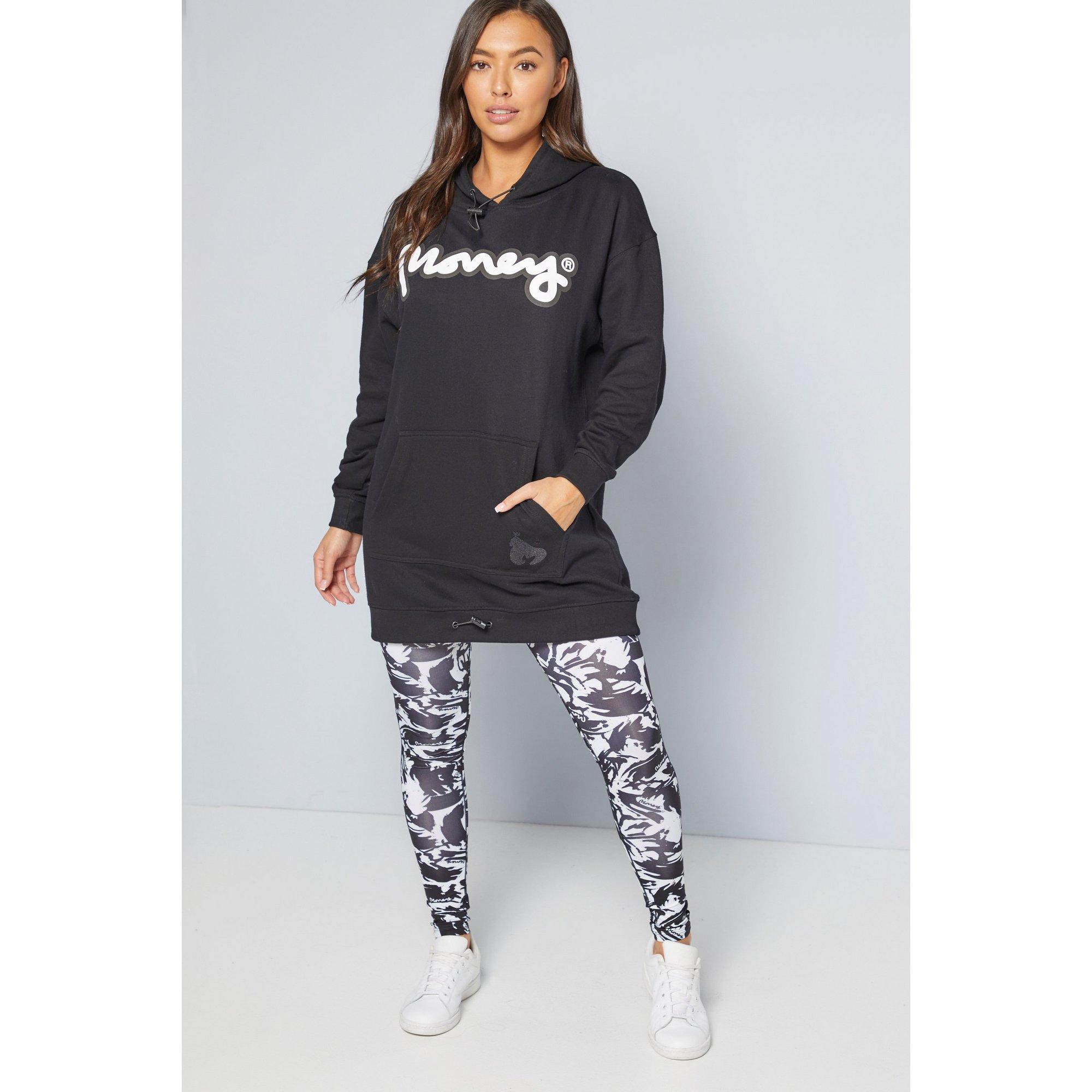 Image of Money Black Oversized Sweater Dress