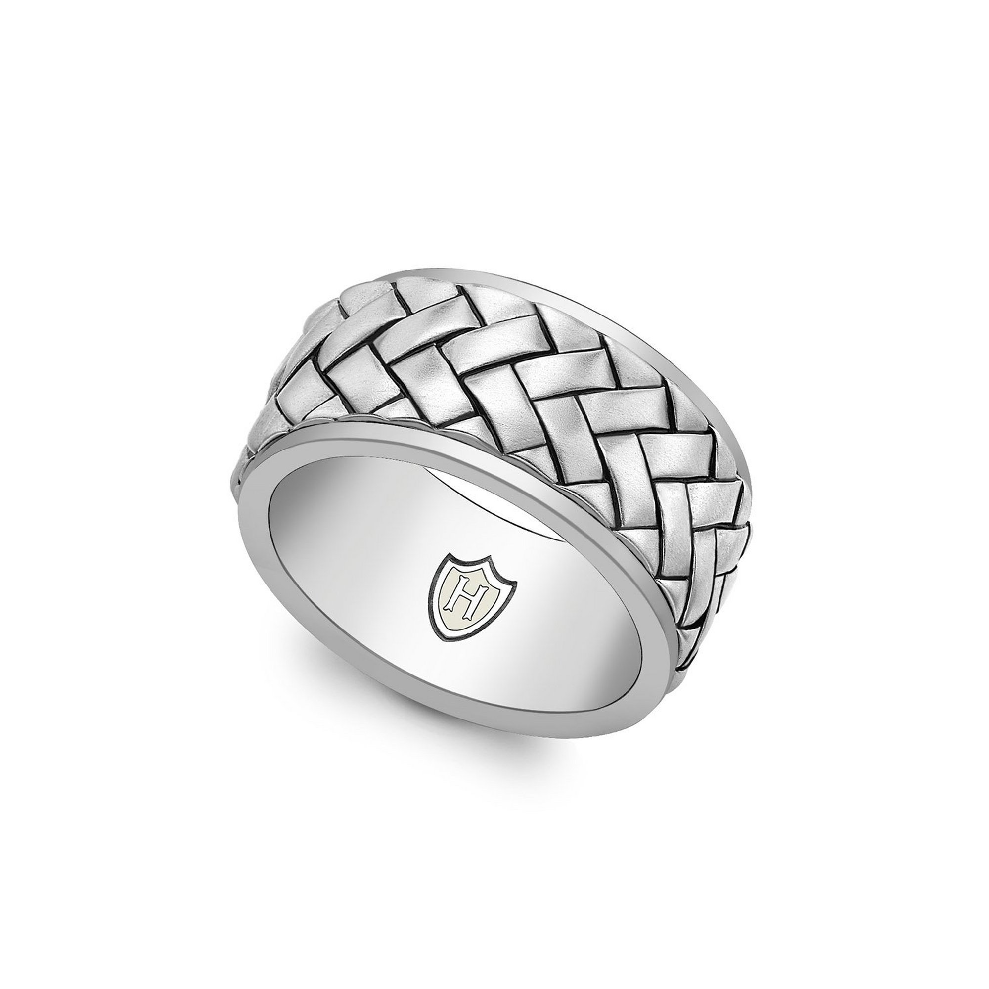 Image of Hoxton London Herringbone Ring