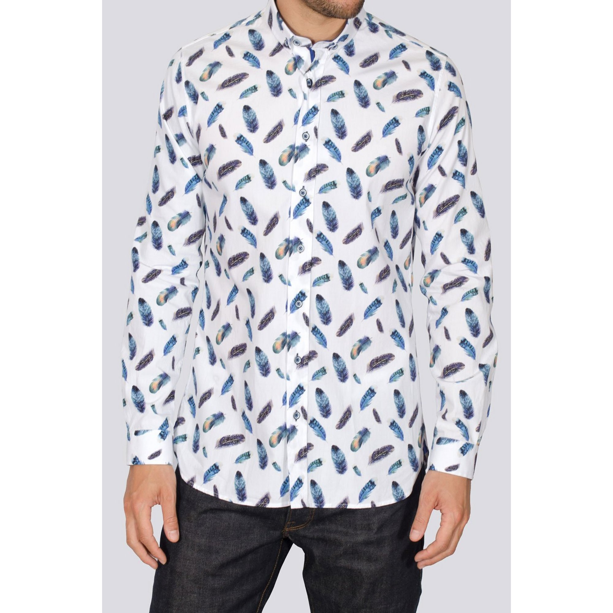 Image of Bewley and Ritch All Over Print Long Sleeve Shirt