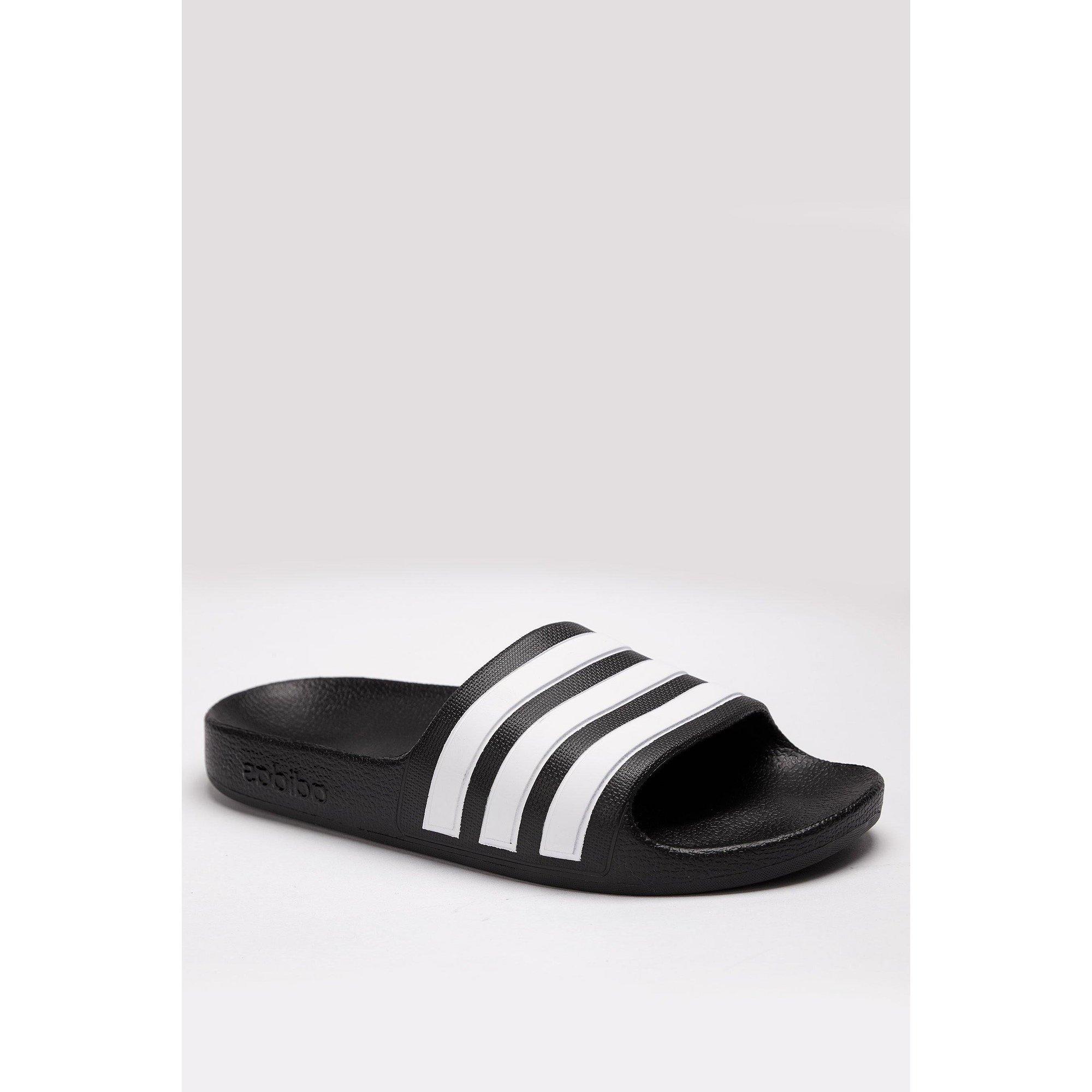 Image of adidas Adilette Aqua Black Sliders