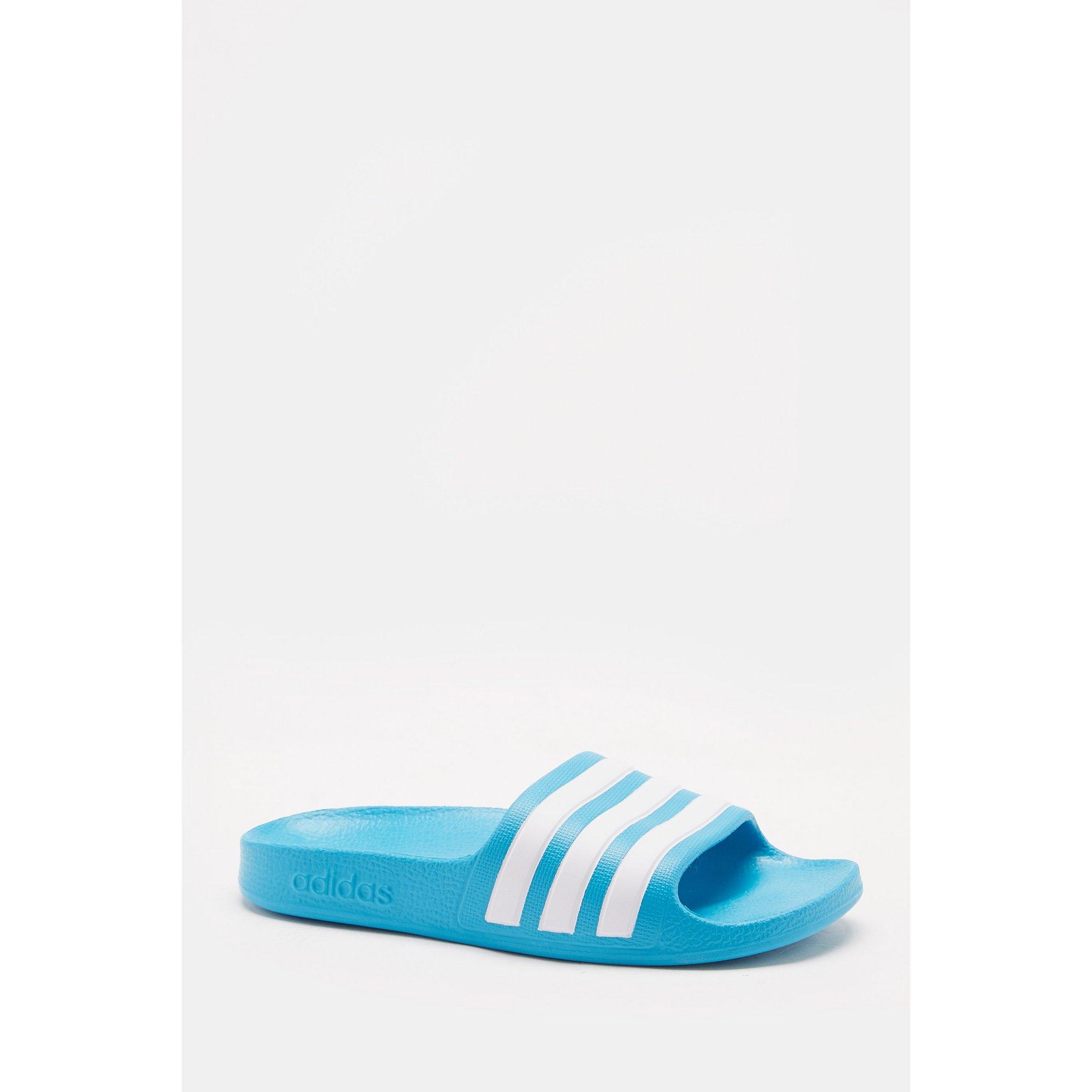 Image of adidas Adilette Aqua Blue Sliders