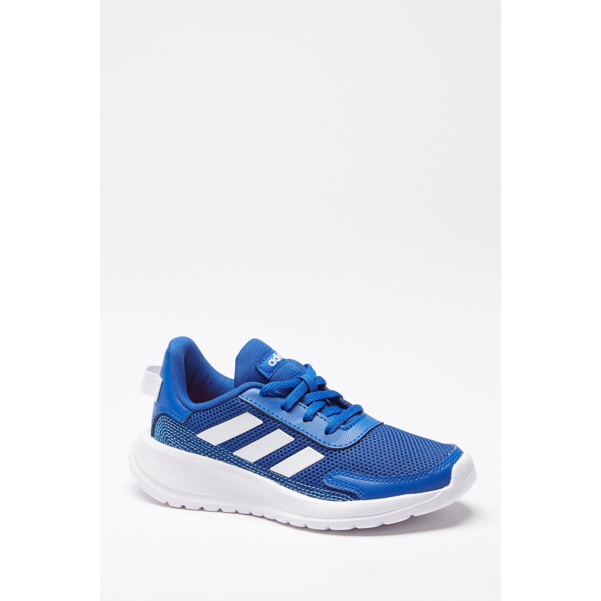 Image of adidas Tensaur Blue Junior Run Trainers