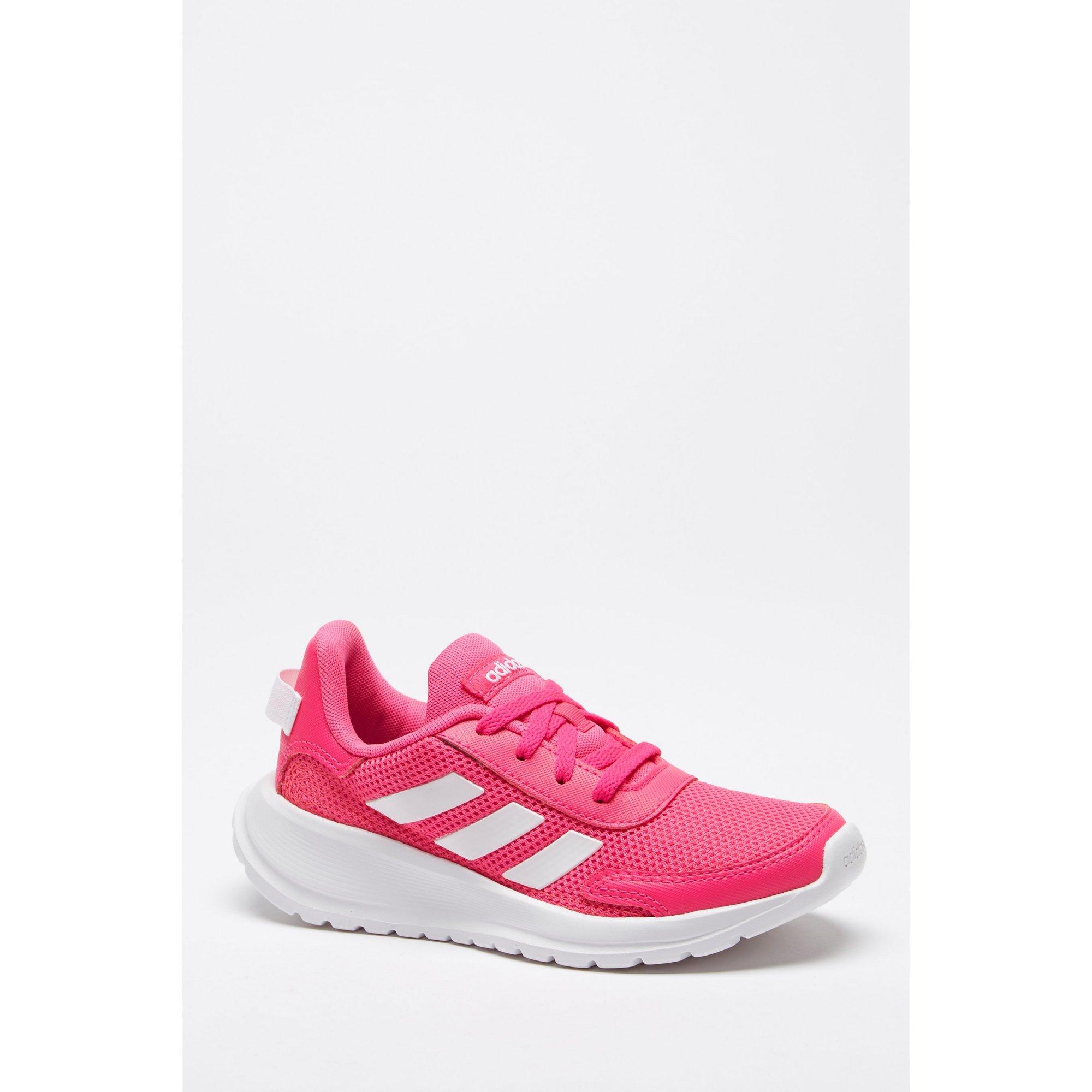 Image of adidas Tensaur Pink Junior Run Trainers