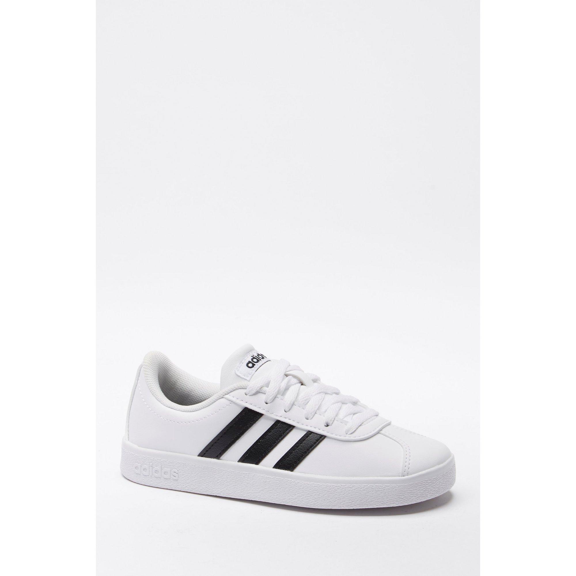 Image of adidas VL Court White Junior Trainers
