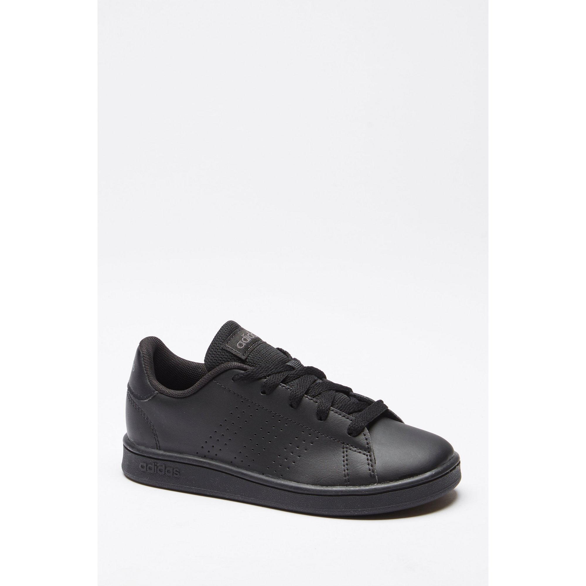 Image of adidas Advantage Black Junior Trainers