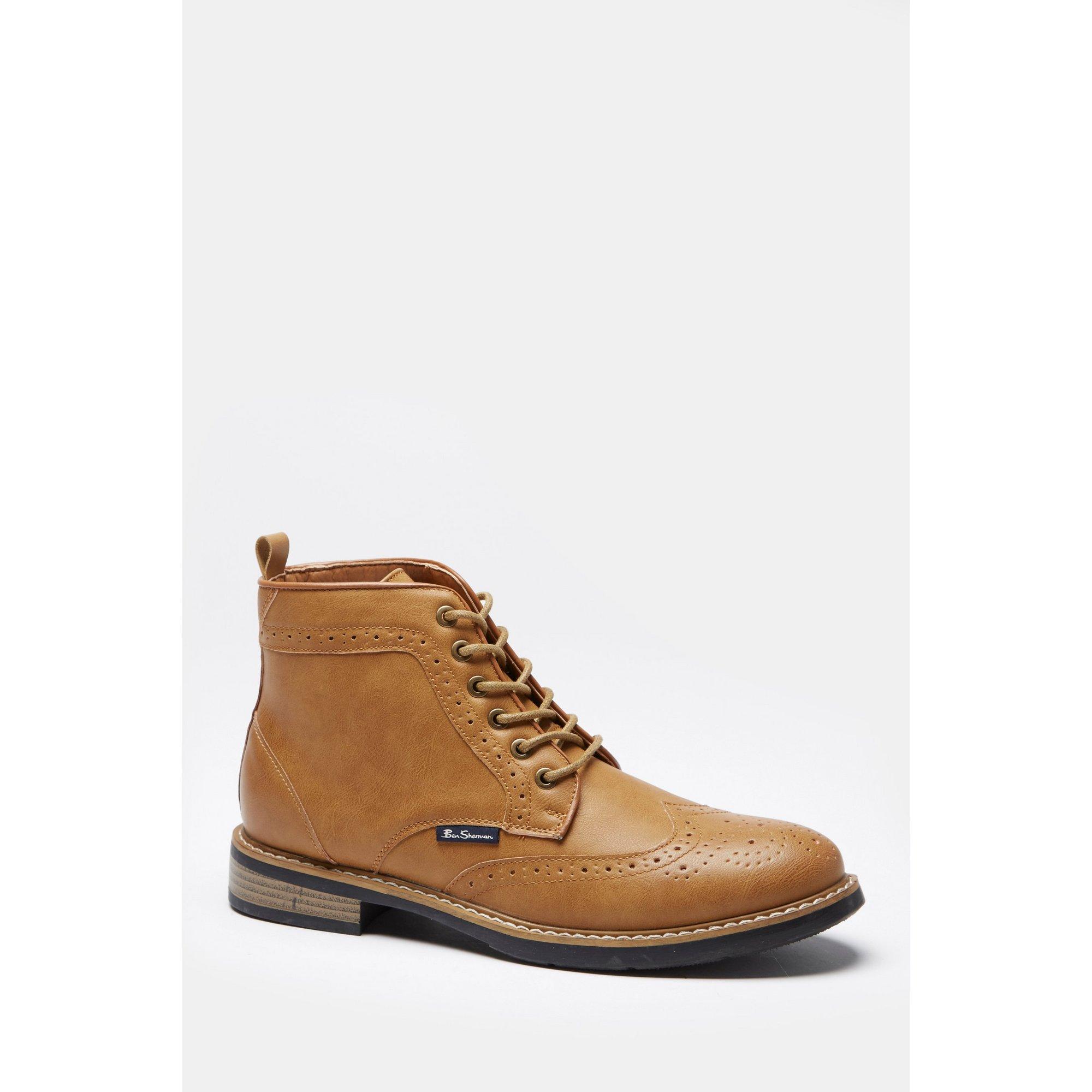 Image of Ben Sherman Templeton Brogue Boots
