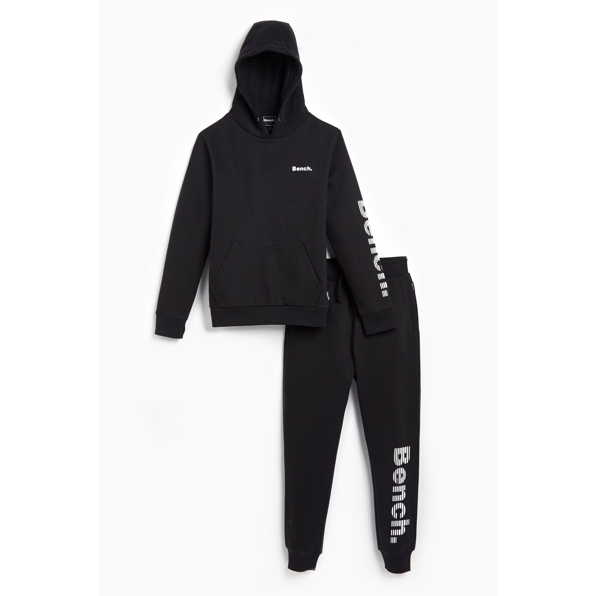 Image of Boys Bench Black Tracksuit