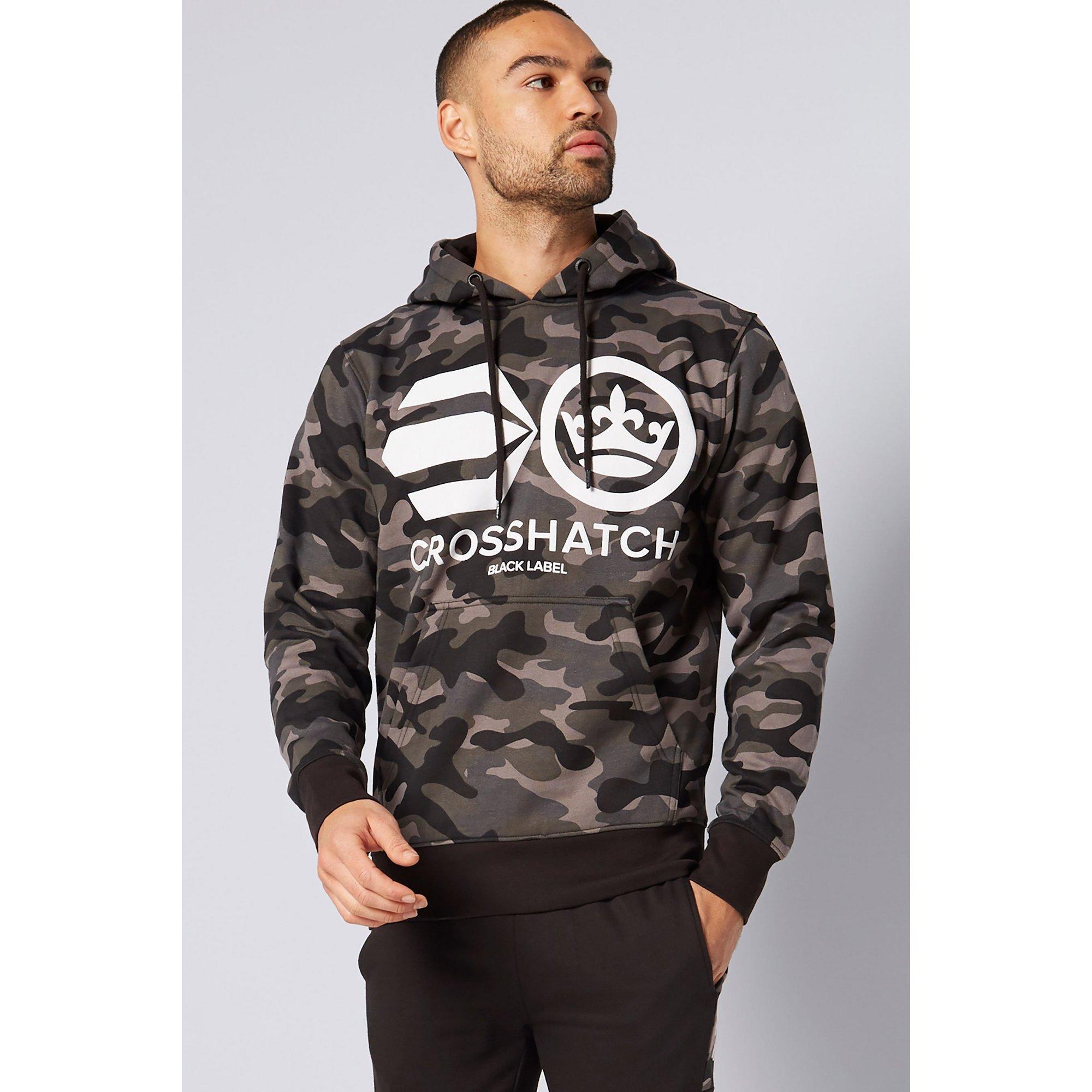 Image of Crosshatch Black Camo Hoody