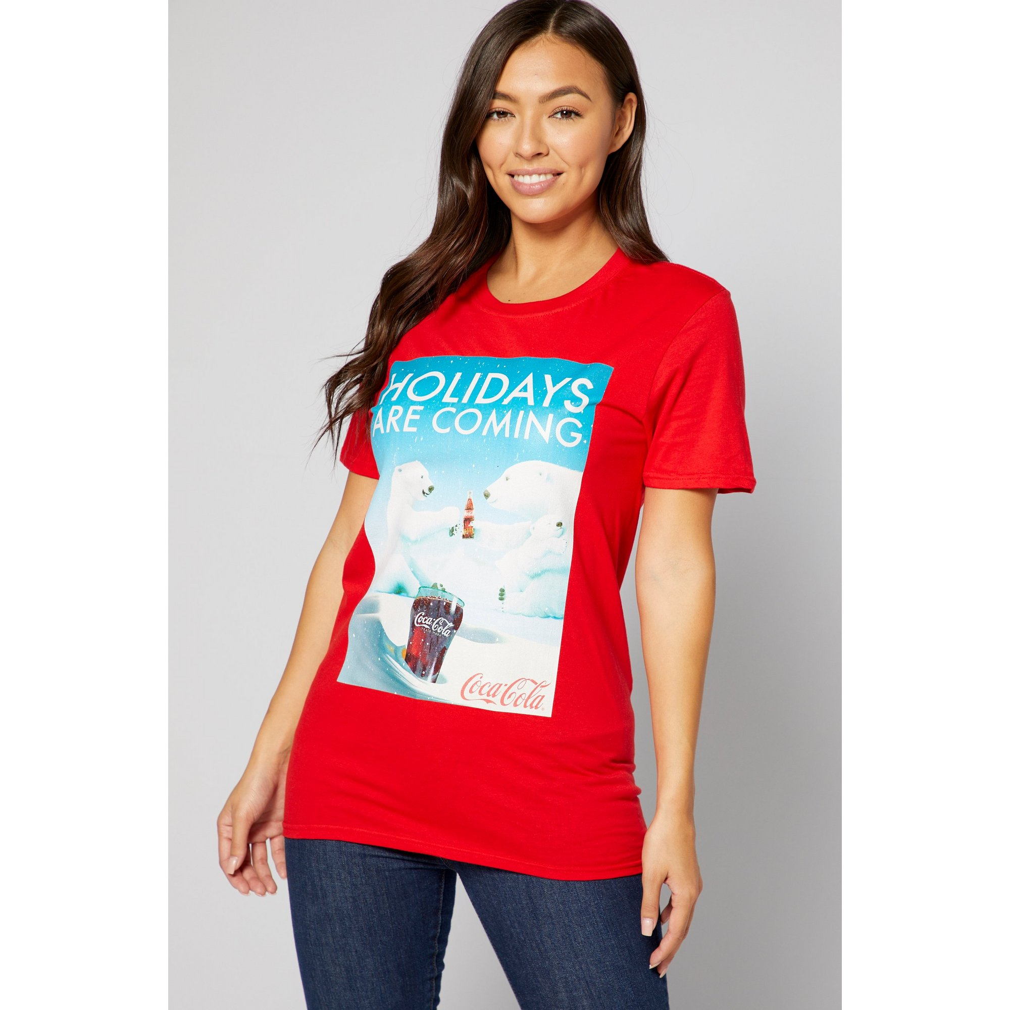 Image of Coca-Cola Polar Bear Red T-Shirt