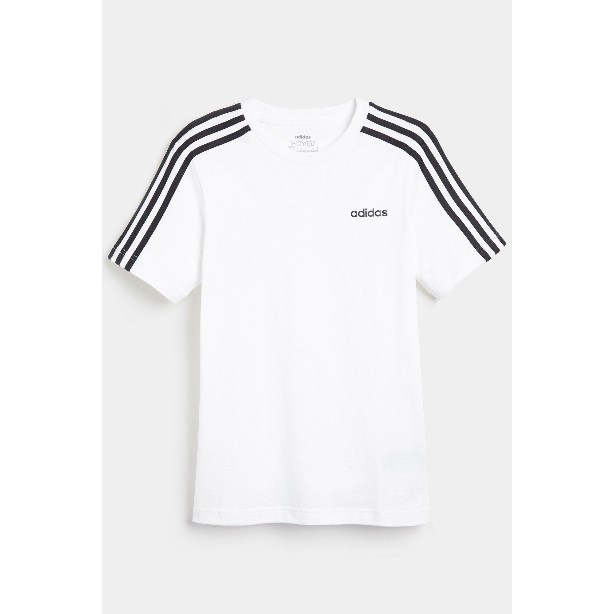 Image of Boys adidas Essentials White T-Shirt