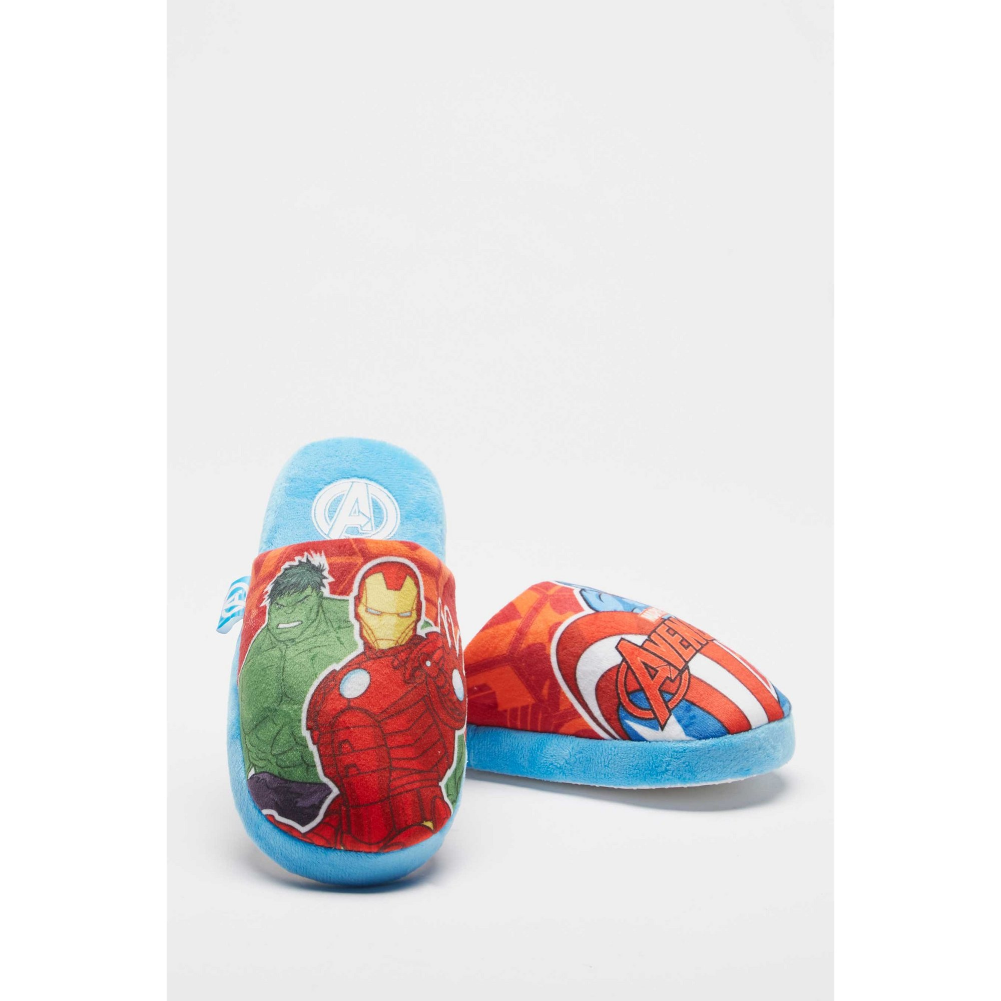 Image of Avengers Blue Mule Slippers