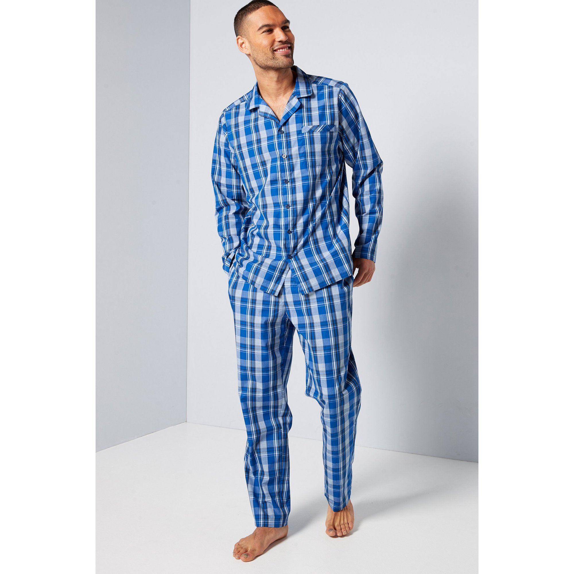 Image of Button Up Pyjama Set