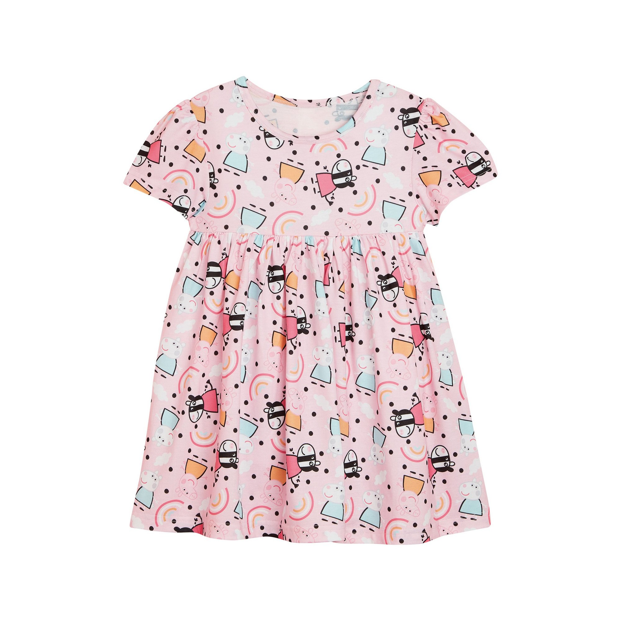 Image of Girls Peppa Pig and Friends Swing Dress