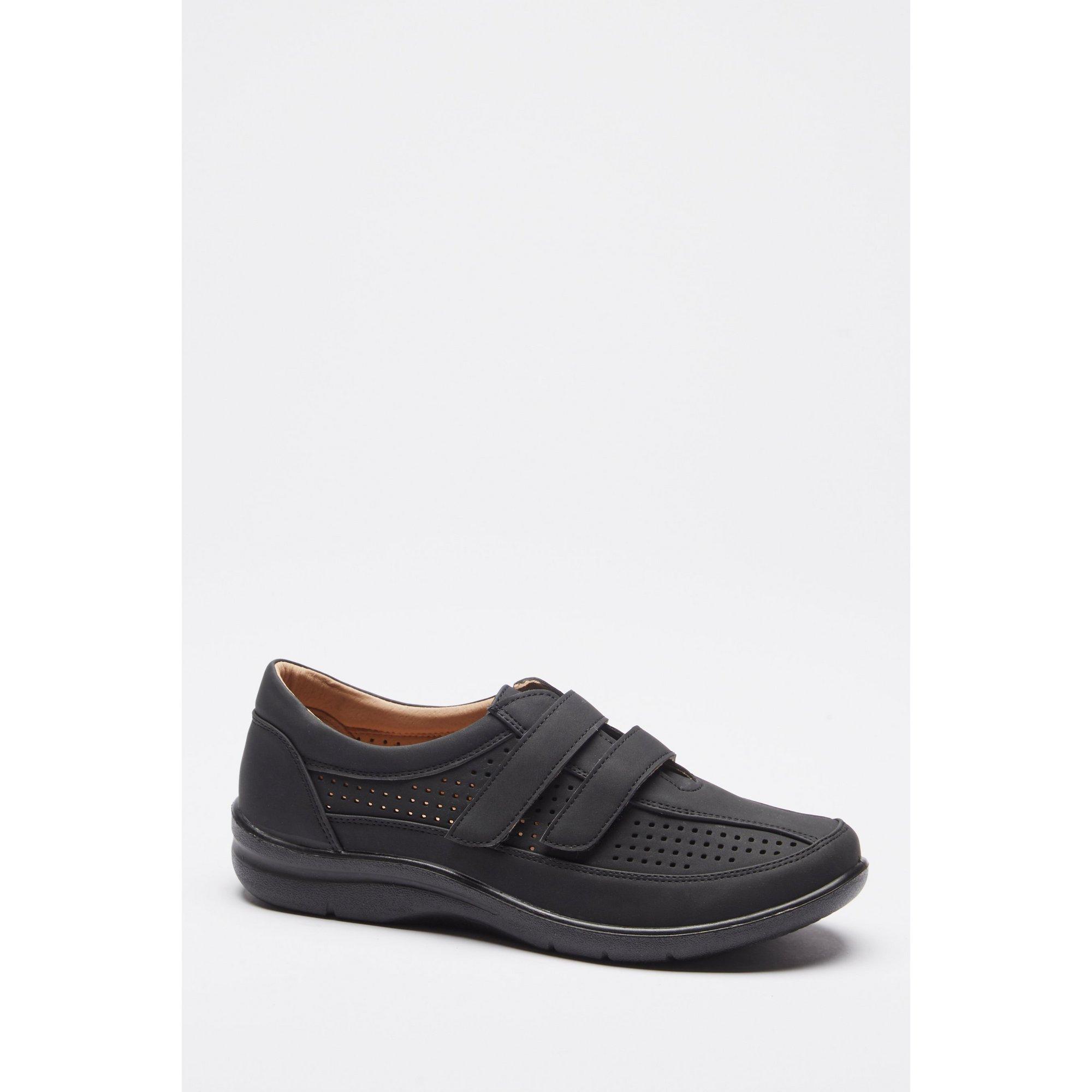 Image of Cushion Walk Black Shoes