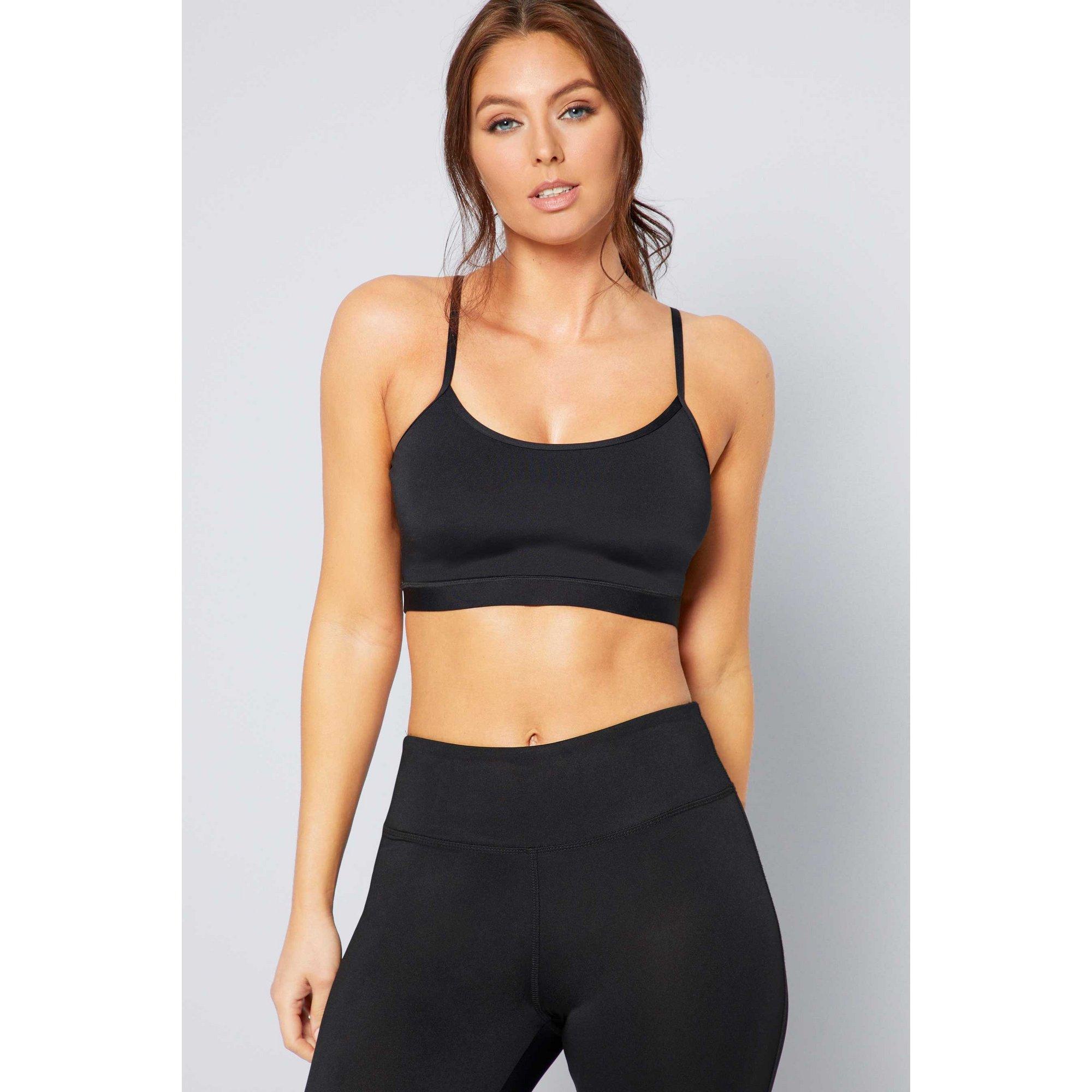 Image of Activewear Black Crop Top