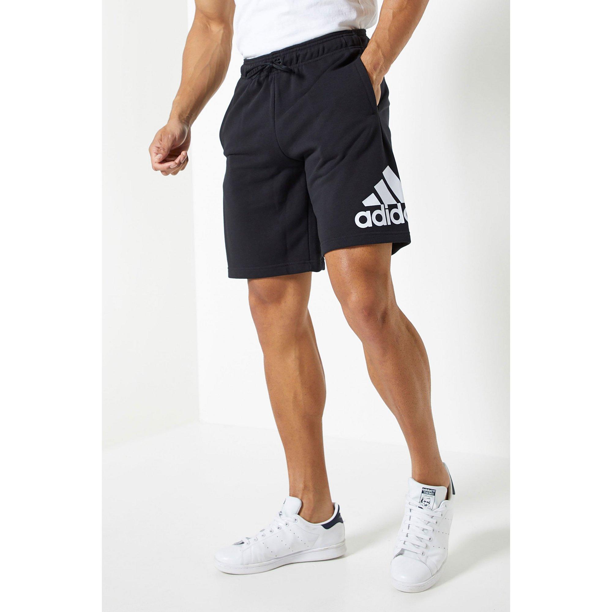 Image of adidas Essentials Logo Black Shorts