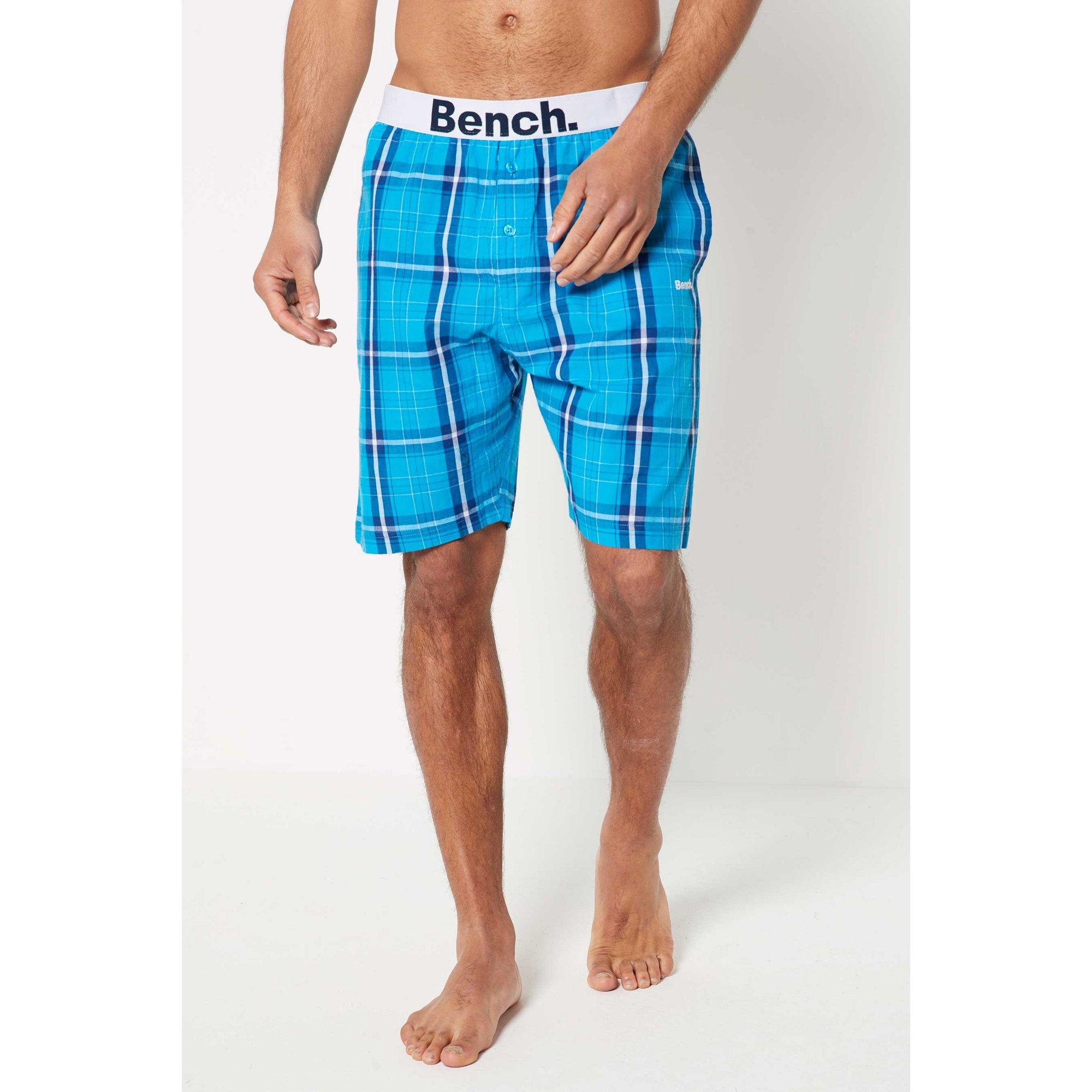 Image of Bench Poplin Check Shorts
