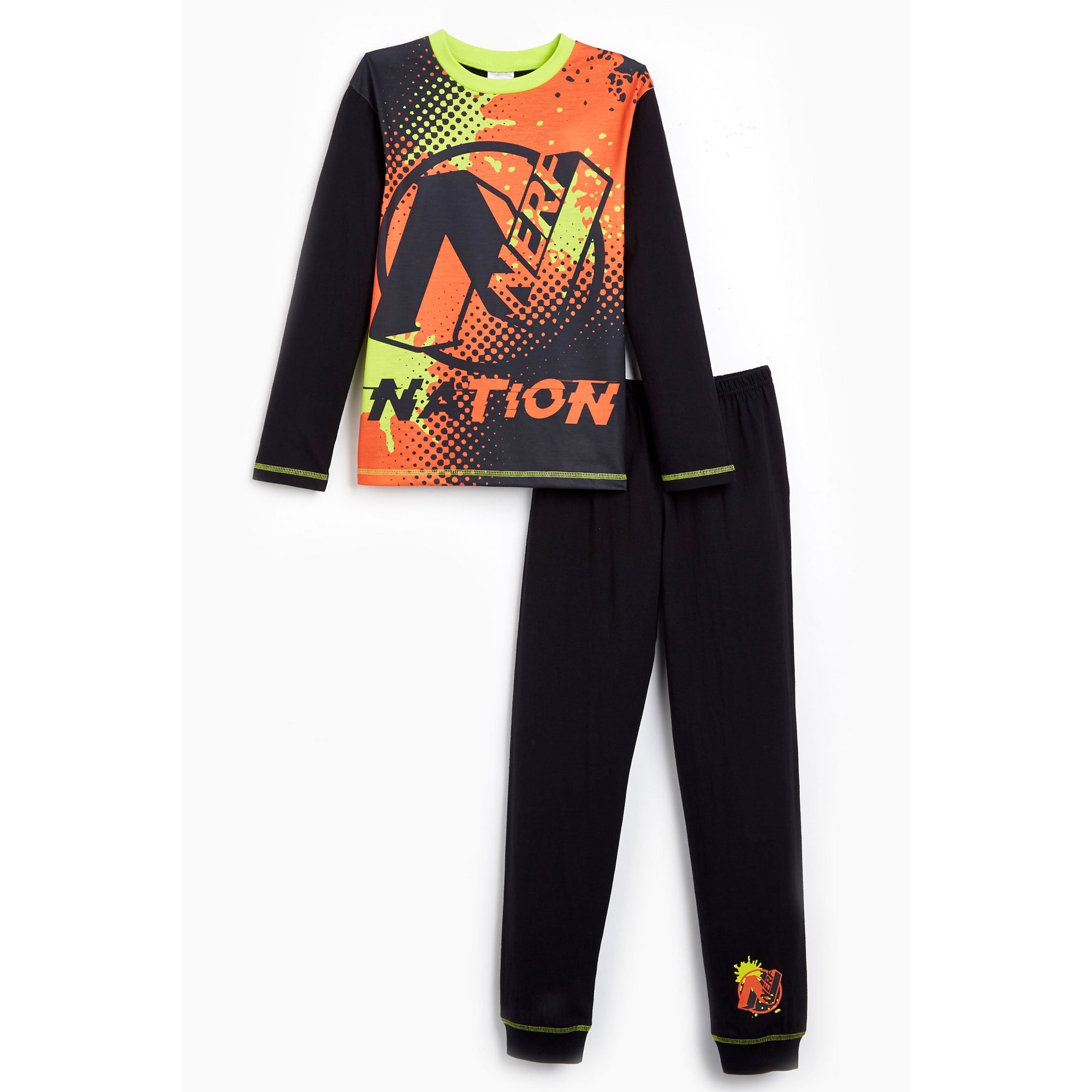 Image of Boys Nerf Long Sleeve Pyjamas