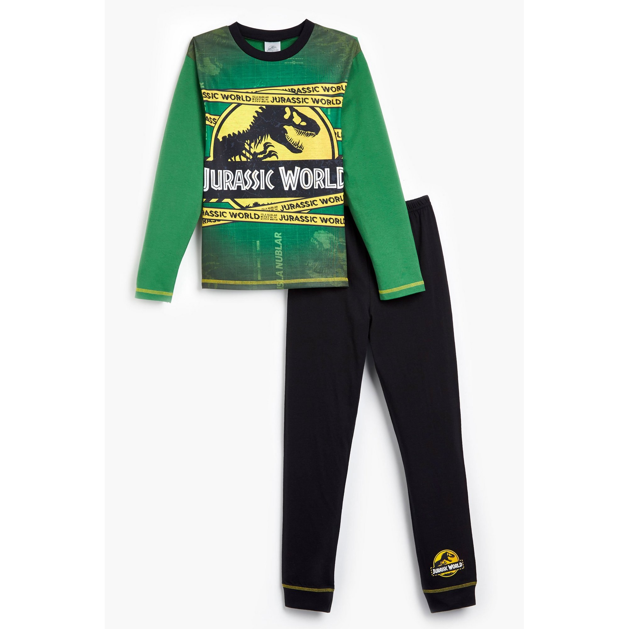 Image of Boys Jurassic World Long Sleeve Pyjamas