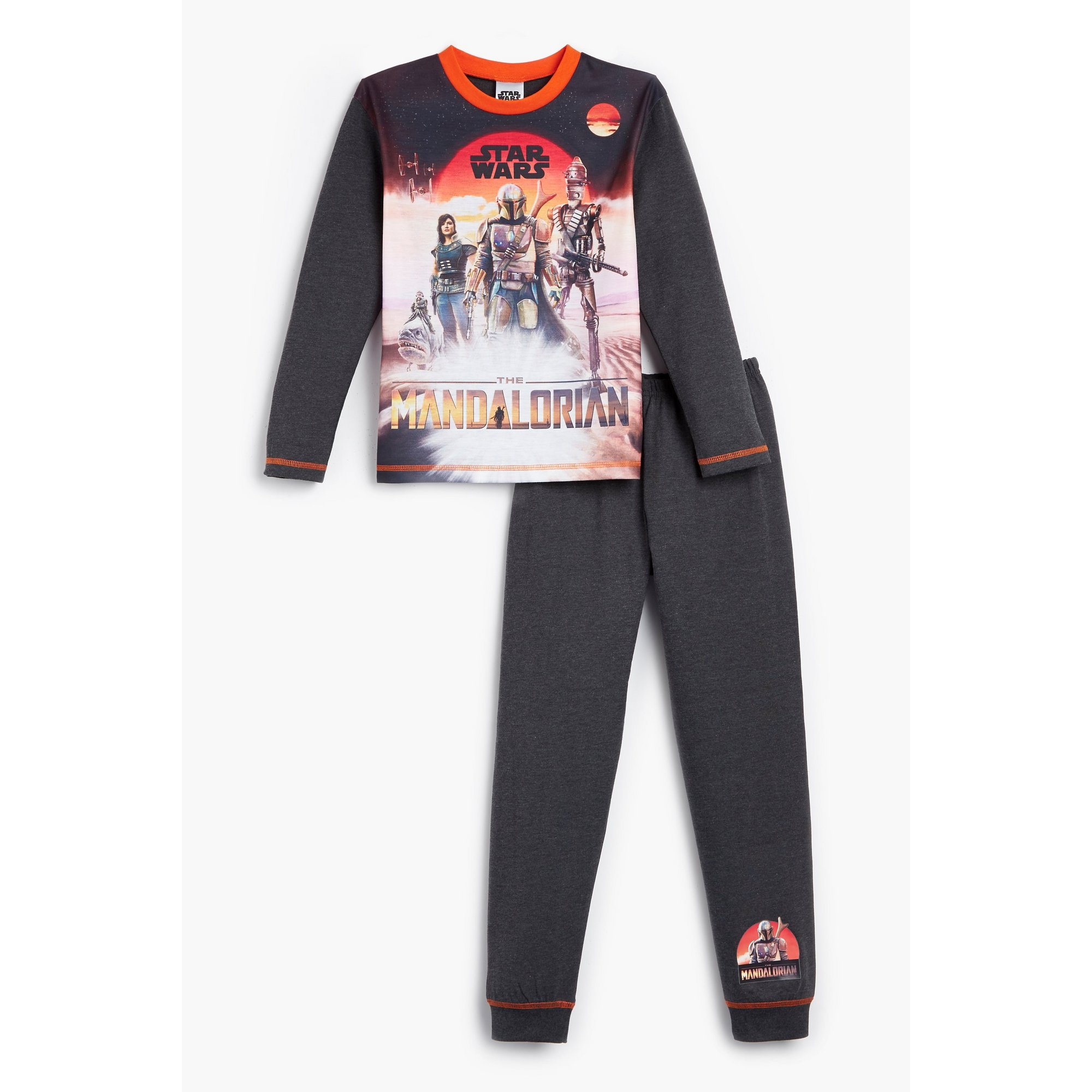 Image of Boys Mandalorian Long Sleeve Pyjamas