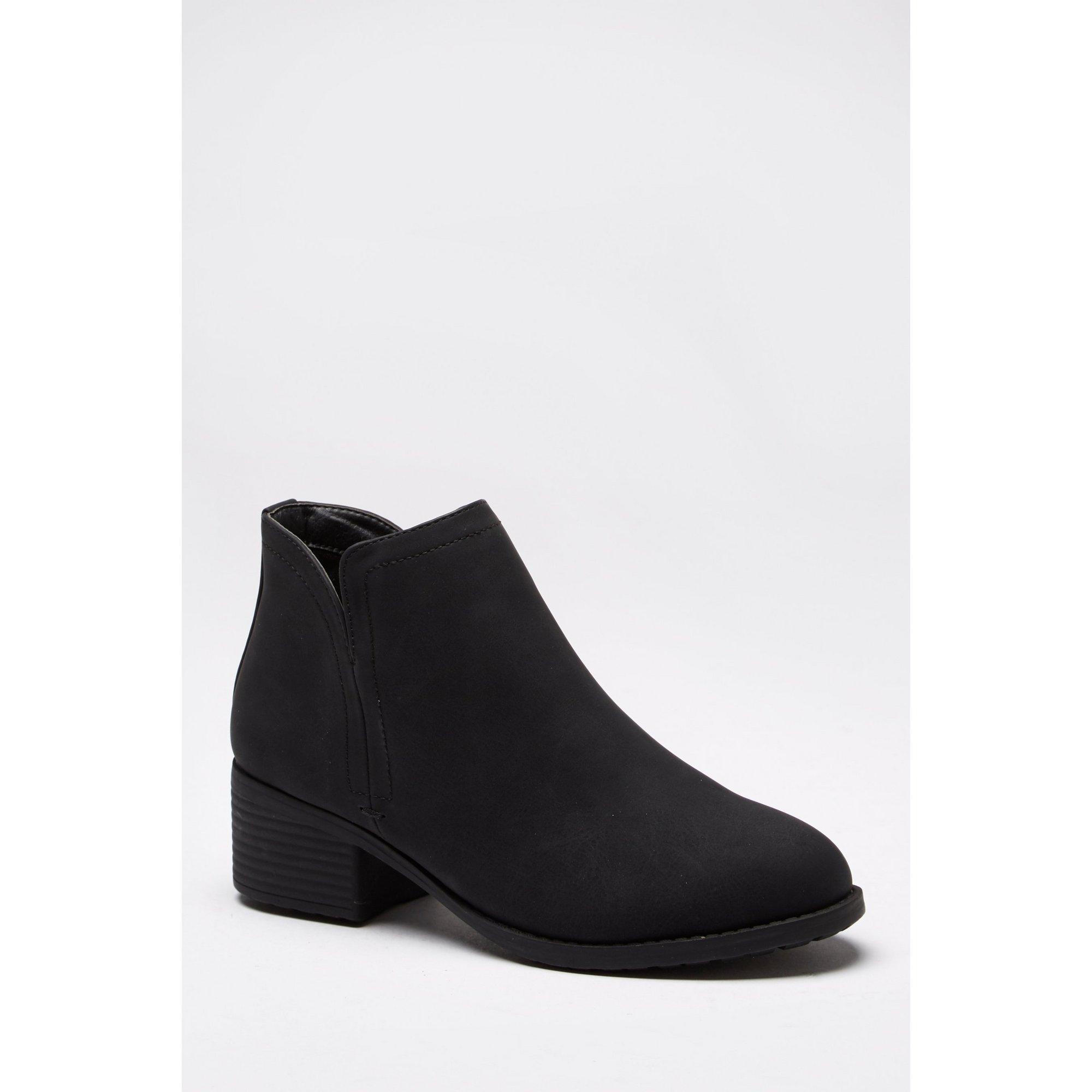 V-Side Ankle Boots