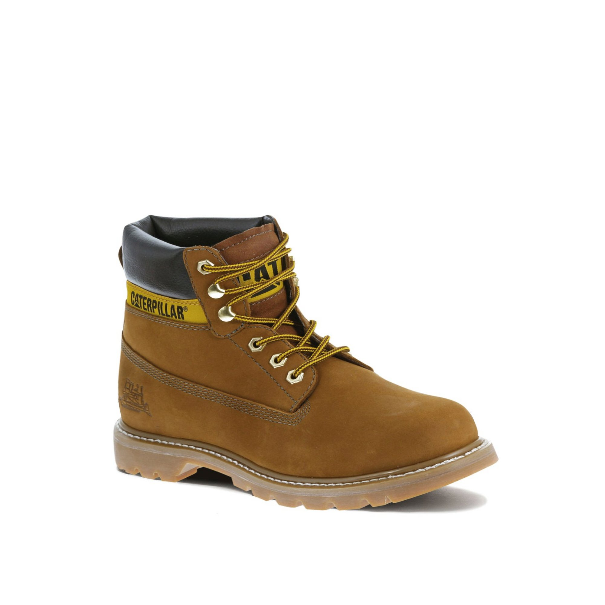 Image of Caterpillar Colorado Nubuck Tan Boots