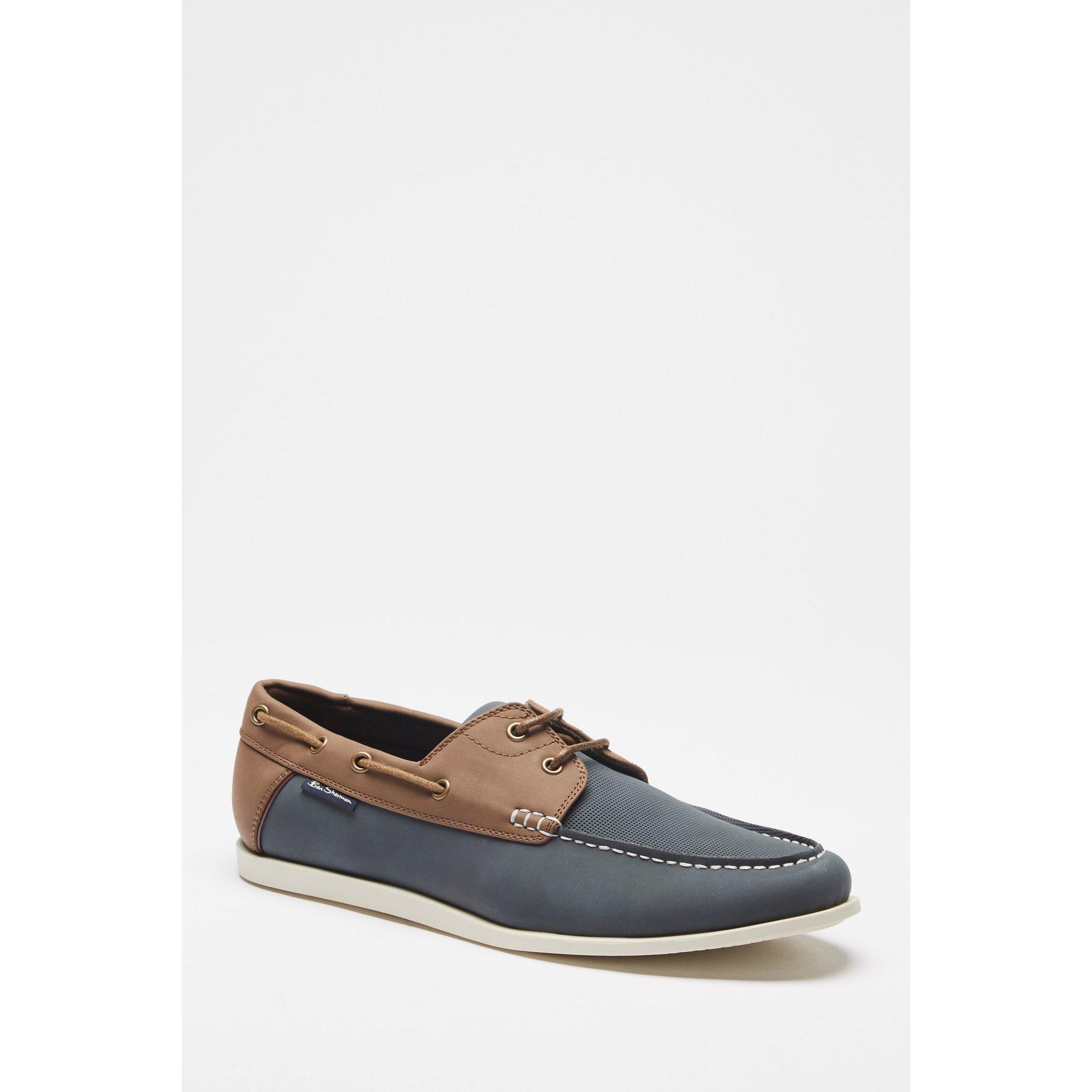 Image of Ben Sherman Ocean Deck Navy Shoes