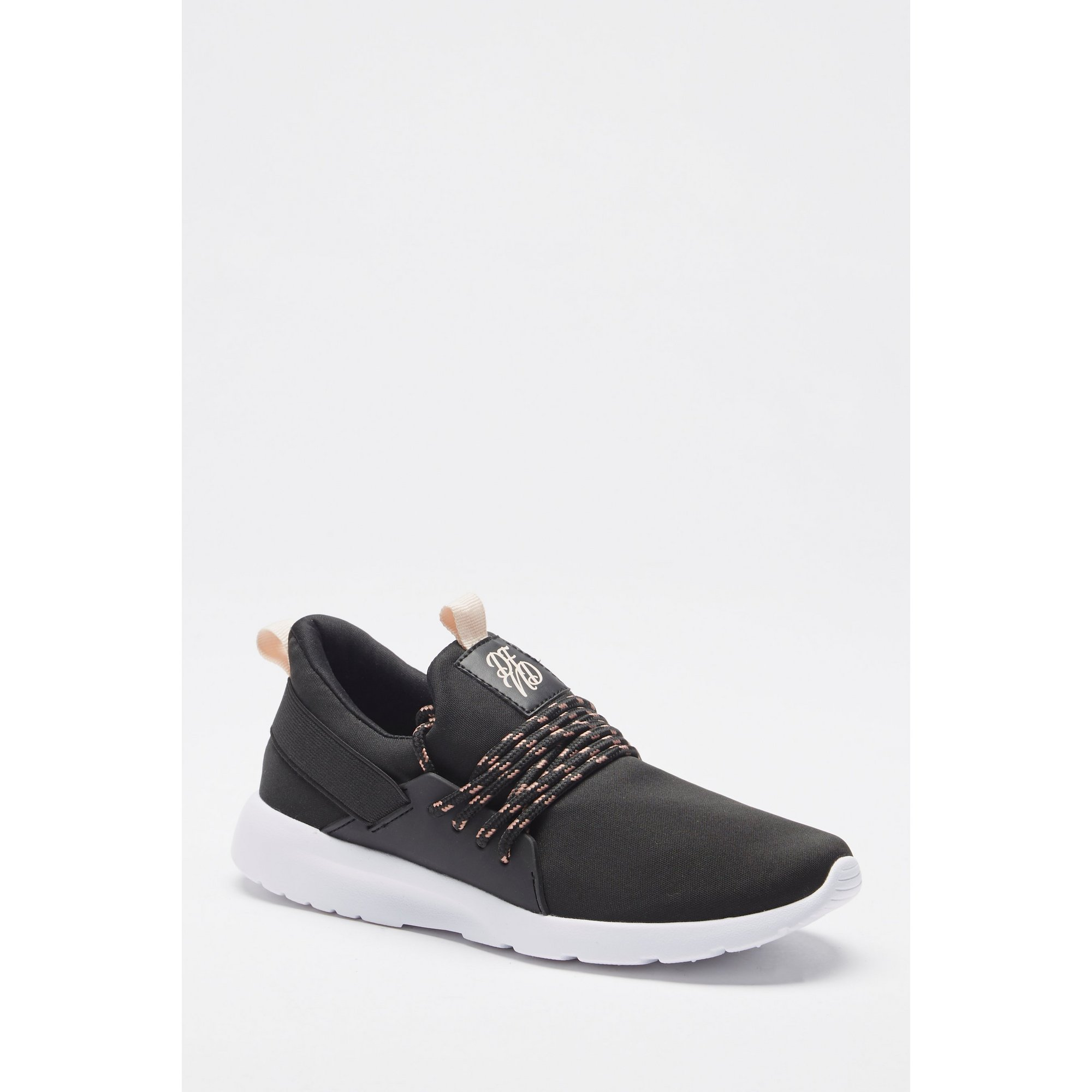Image of DFND Slip-On Black Trainers