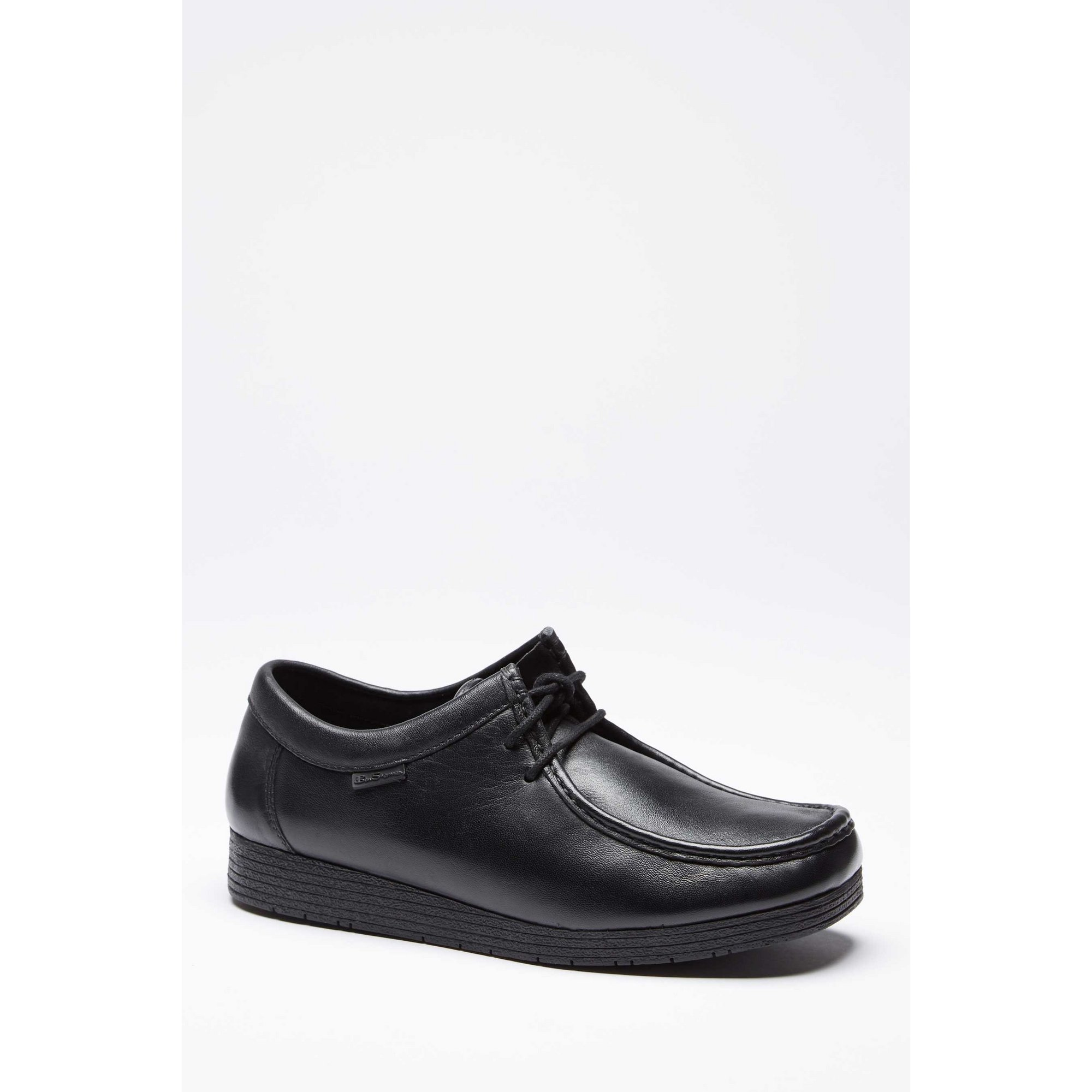 Image of Ben Sherman Black Leather Lace Up Shoes
