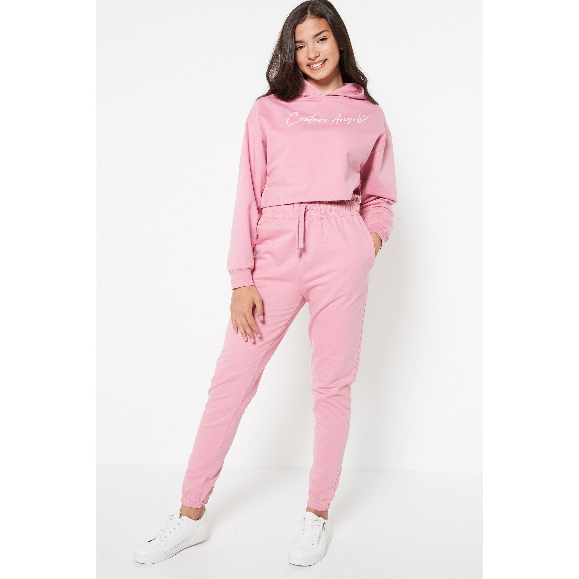Image of Teen Girls 2 Piece Couture Angels Hoody and Jogger Set