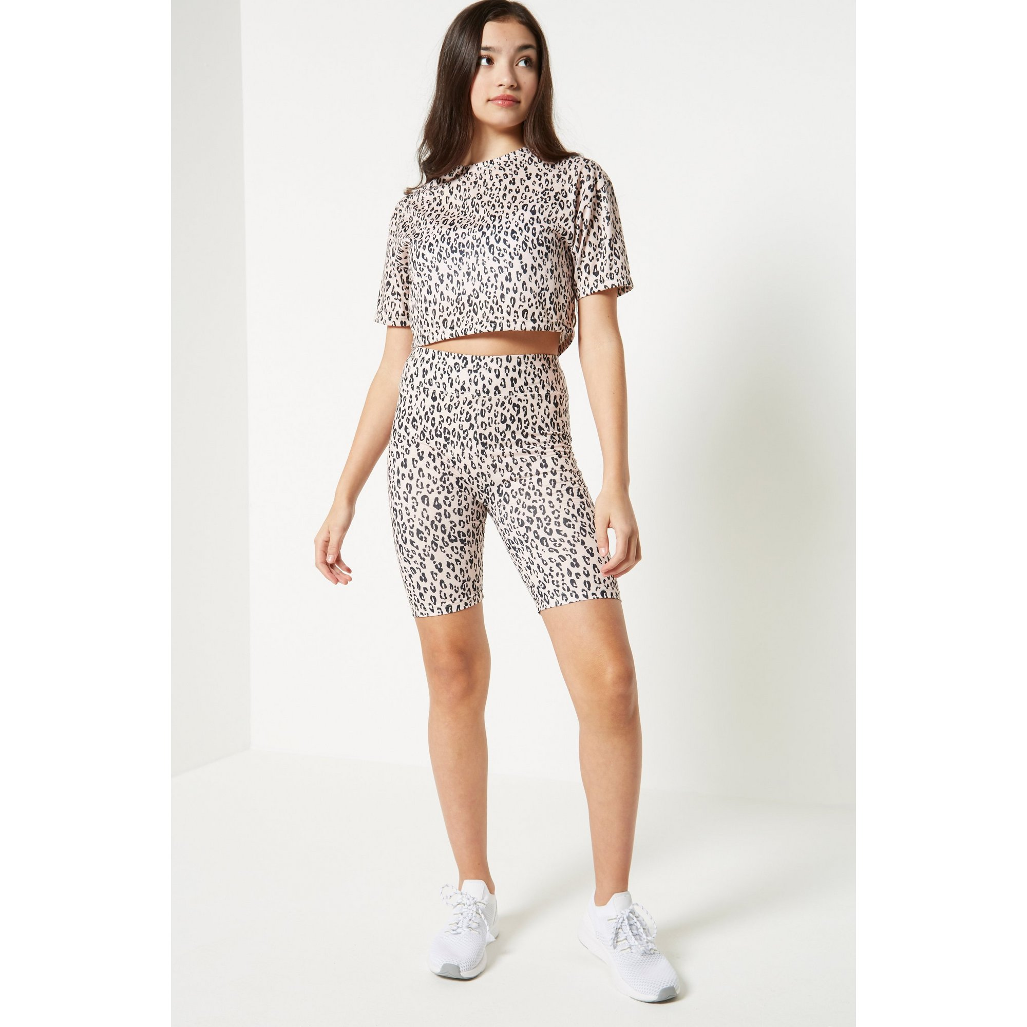 Image of Couture Angels 2-Piece T-Shirt and Cycling Shorts Set