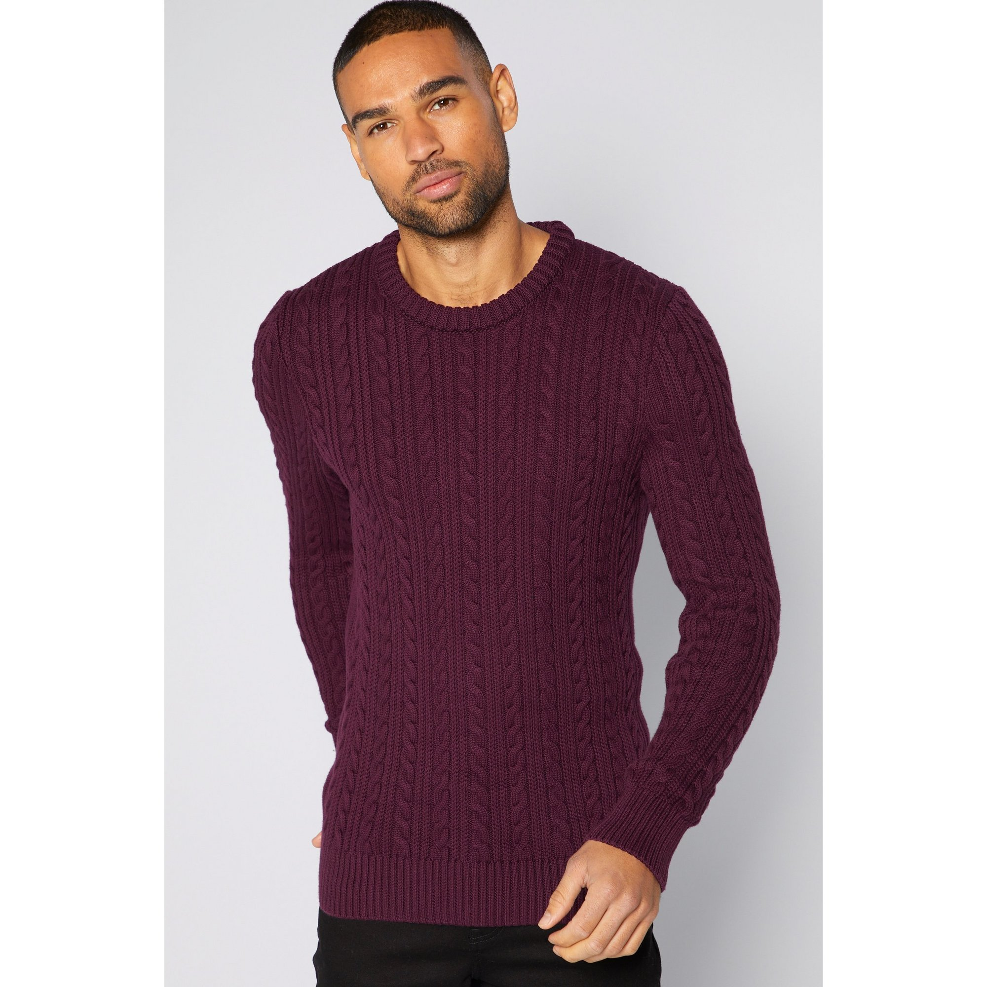 Image of Bewley and Ritch Cord Knit Jumper