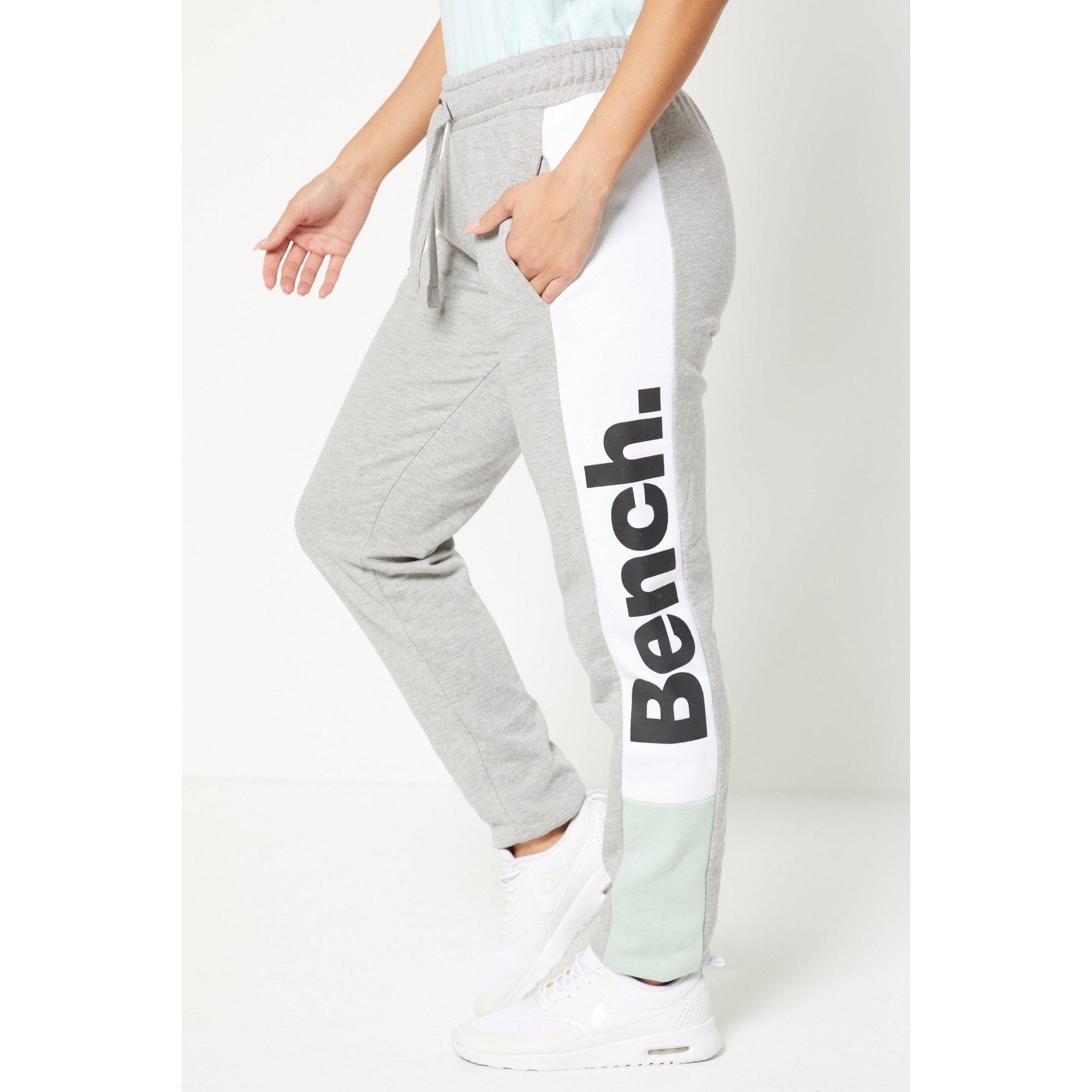 Image of Bench Colour Block Grey Logo Joggers