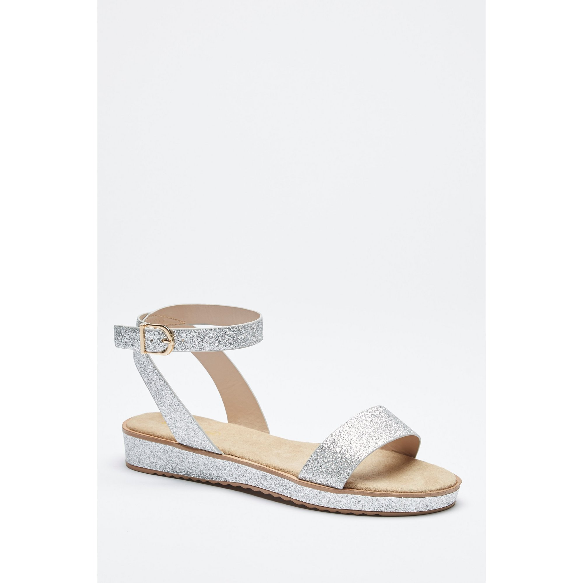 Image of 2-Part Footbed Sandals