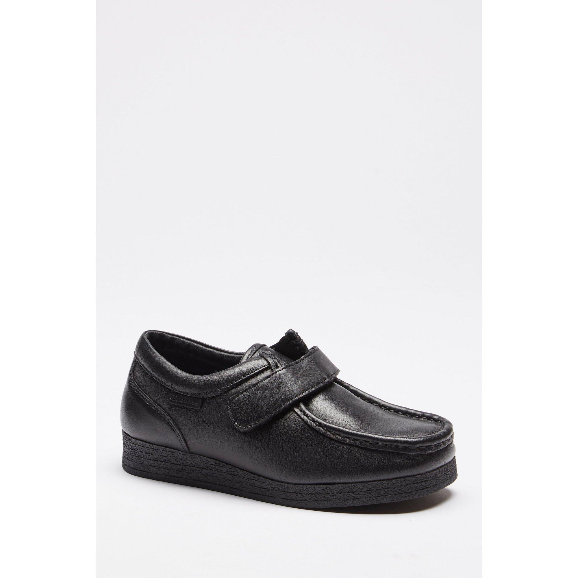 Image of Ben Sherman Quad Velcro Leather Shoes