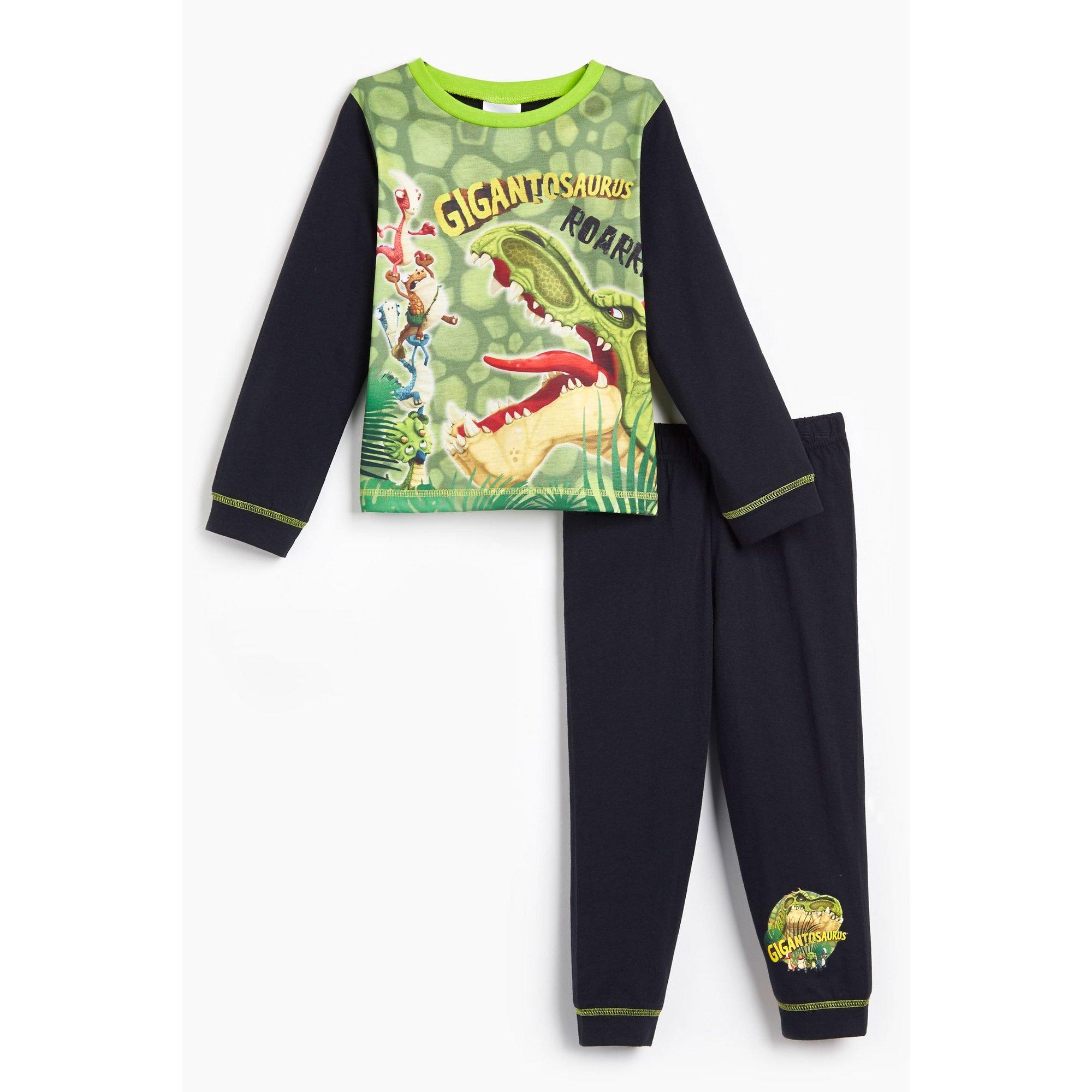 Image of Younger Boys Gigantosaurus Long Sleeve Pyjamas
