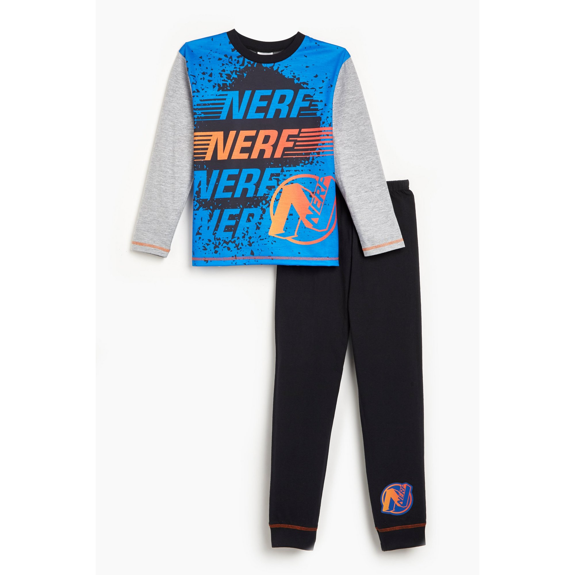 Image of Boys Nerf Long Sleeve Pyjamas