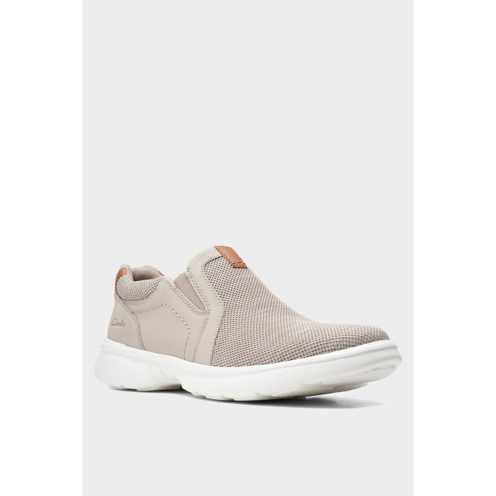 Image of Clarks Bradley Easy Stone Shoes
